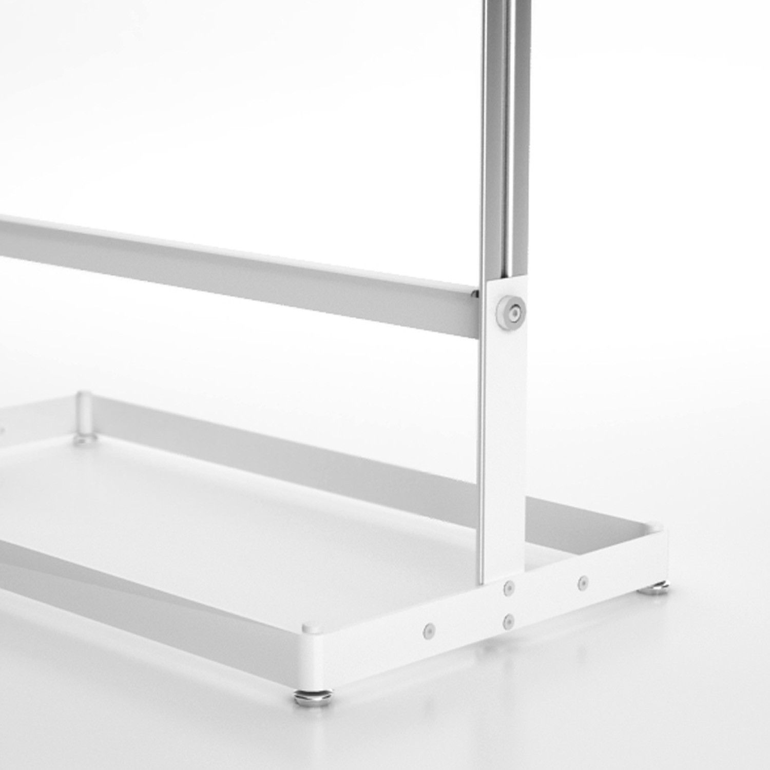 Inlin Coat Stand Base Detail Without Castors