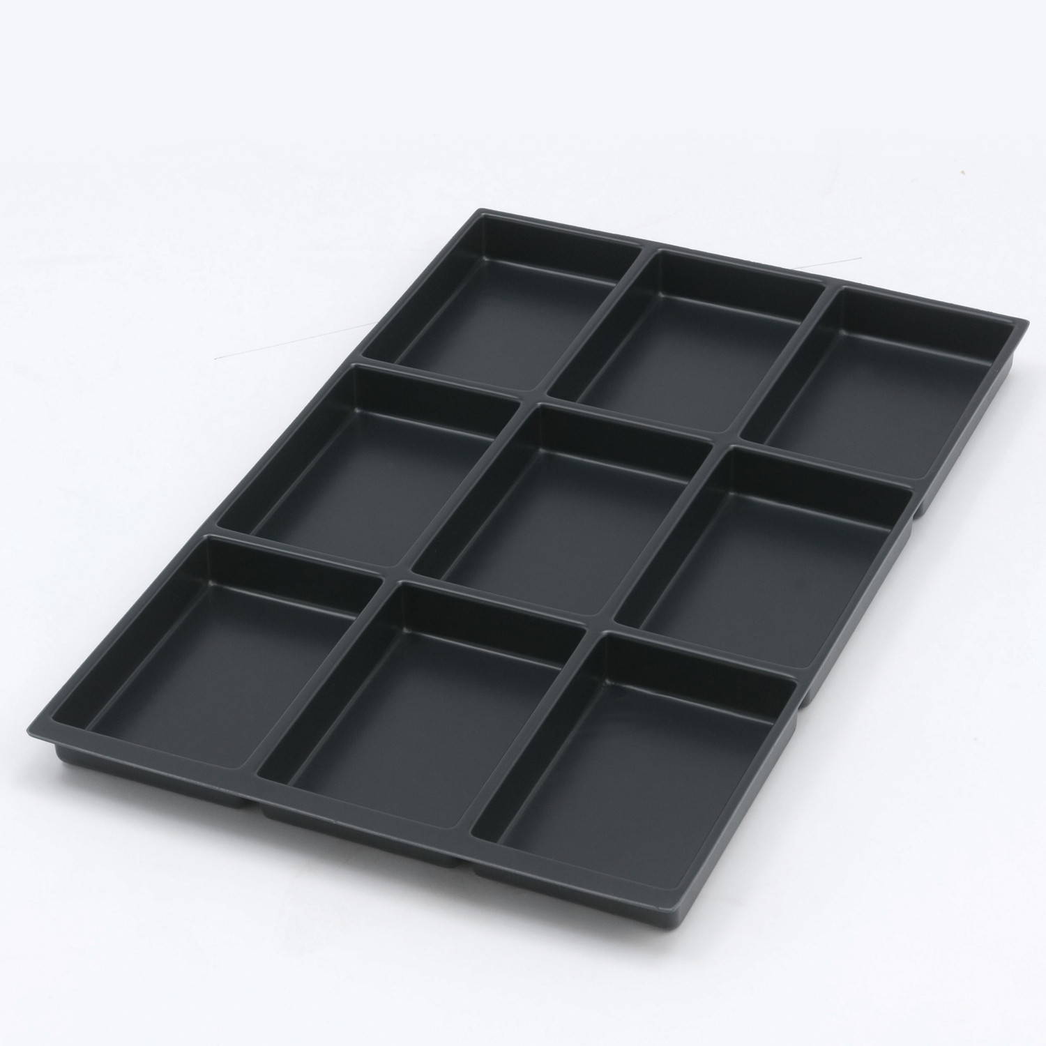 Plastic Multidrawer Insert Tray - 9 Compartments