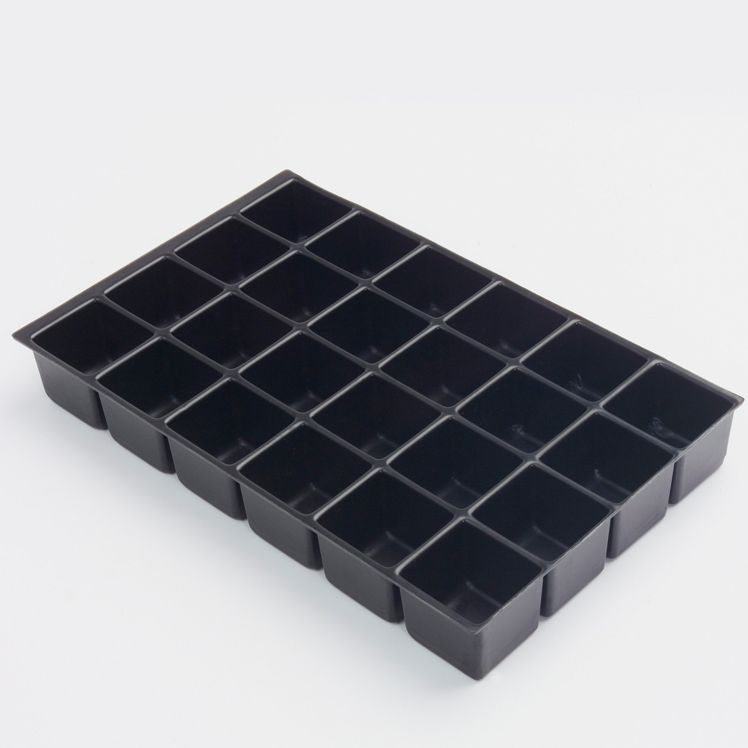 Plastic Multidrawer Insert Tray - 24 Compartments