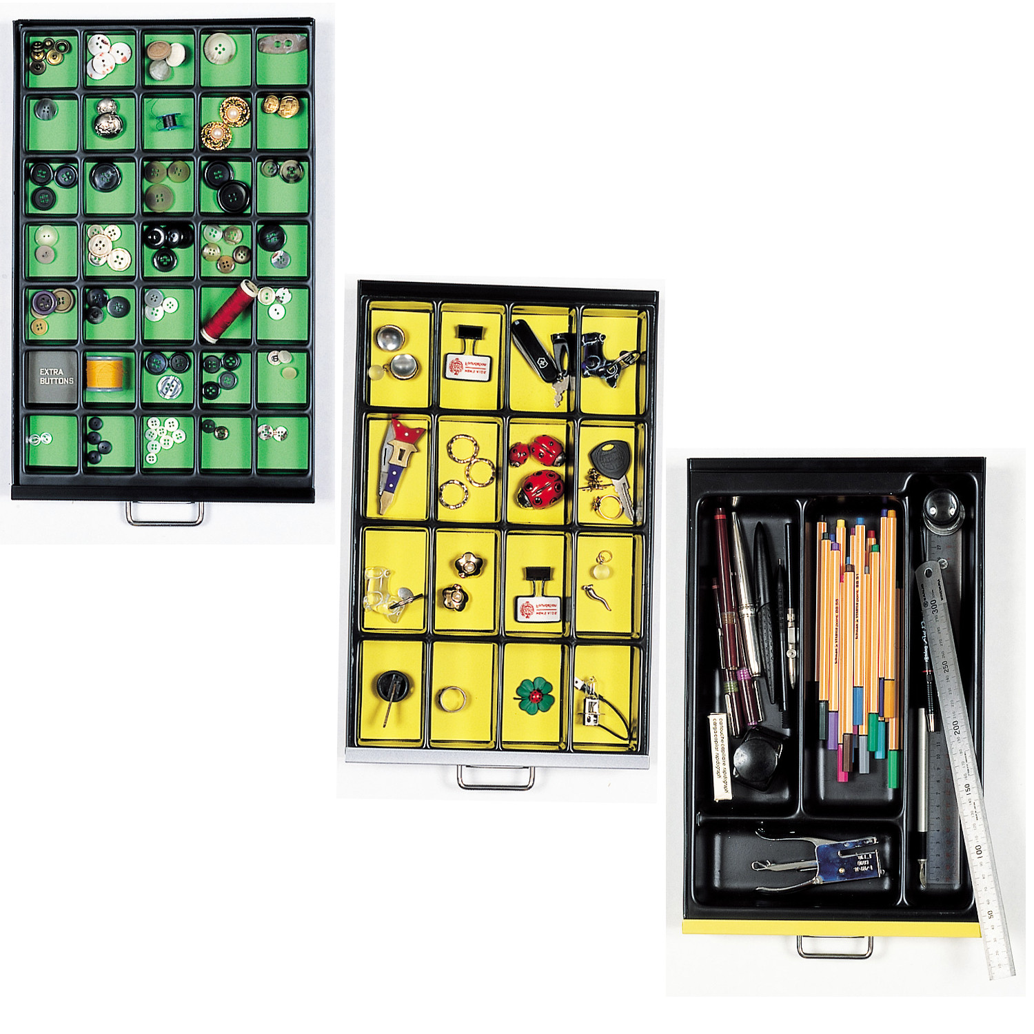 Bisley Multi-Compartment Trays
