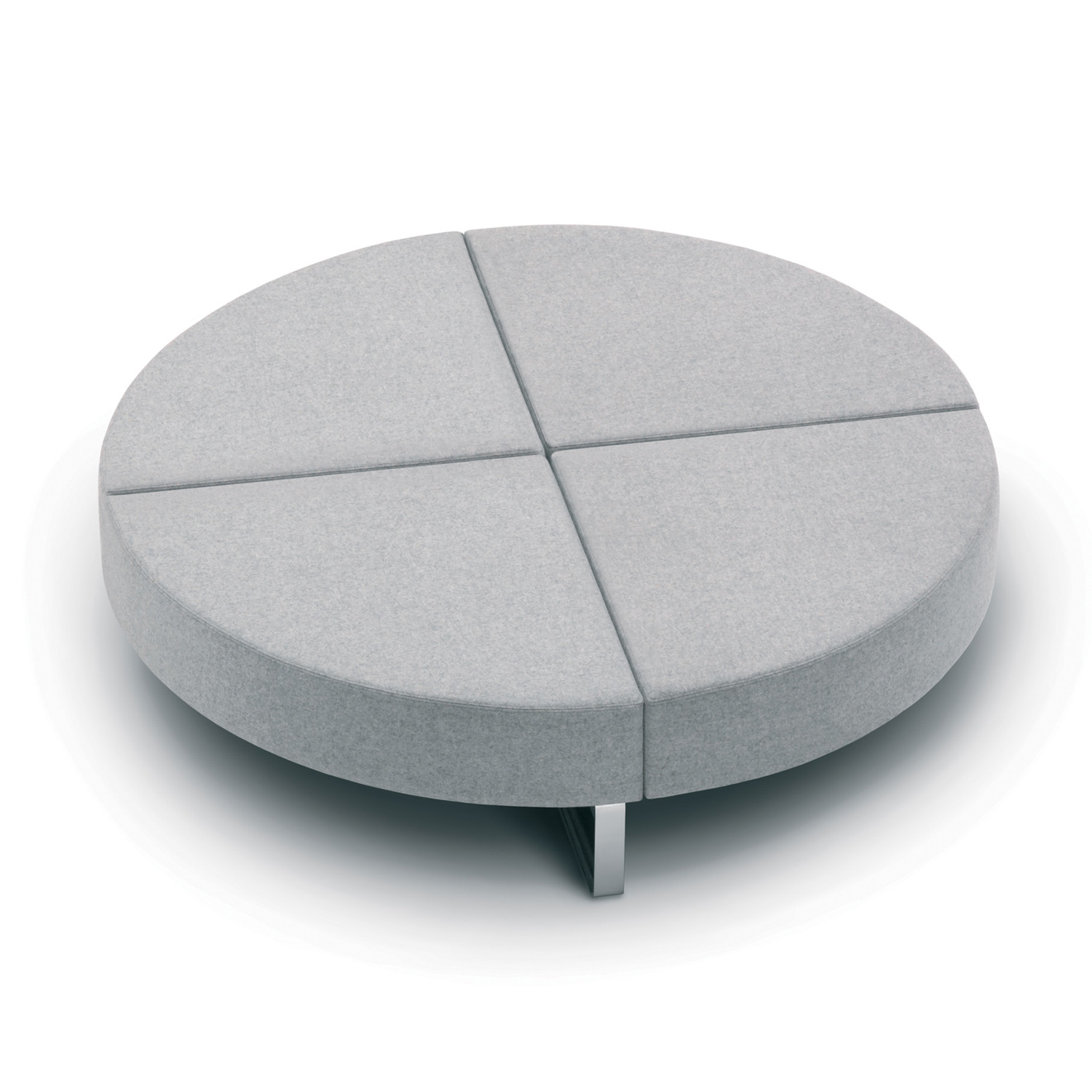 Intro Modular Bench Circular Wedge