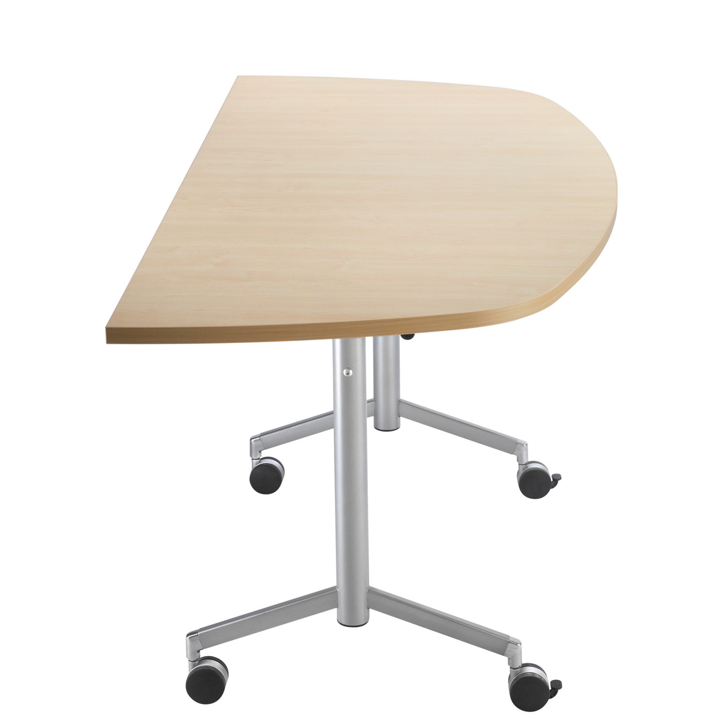 IS D-Shaped Meeting Table