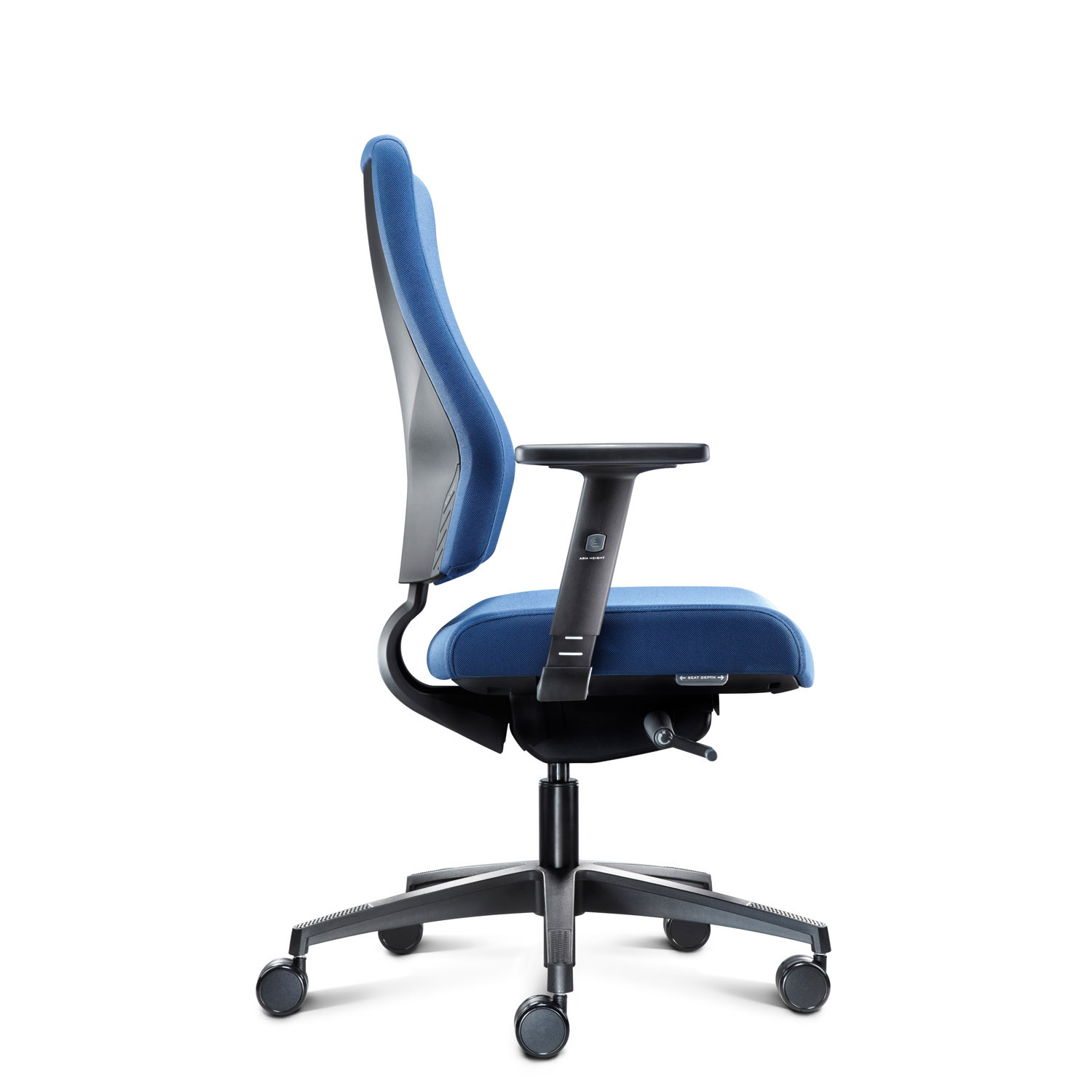 IS Ergonomic Task Chair Side View