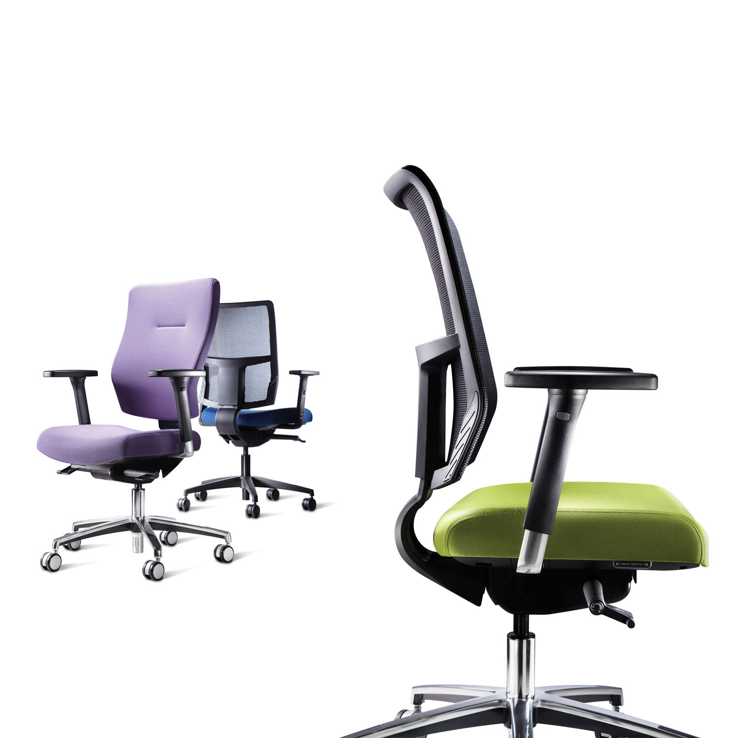 IS Task Chairs by Roger Webb Associates