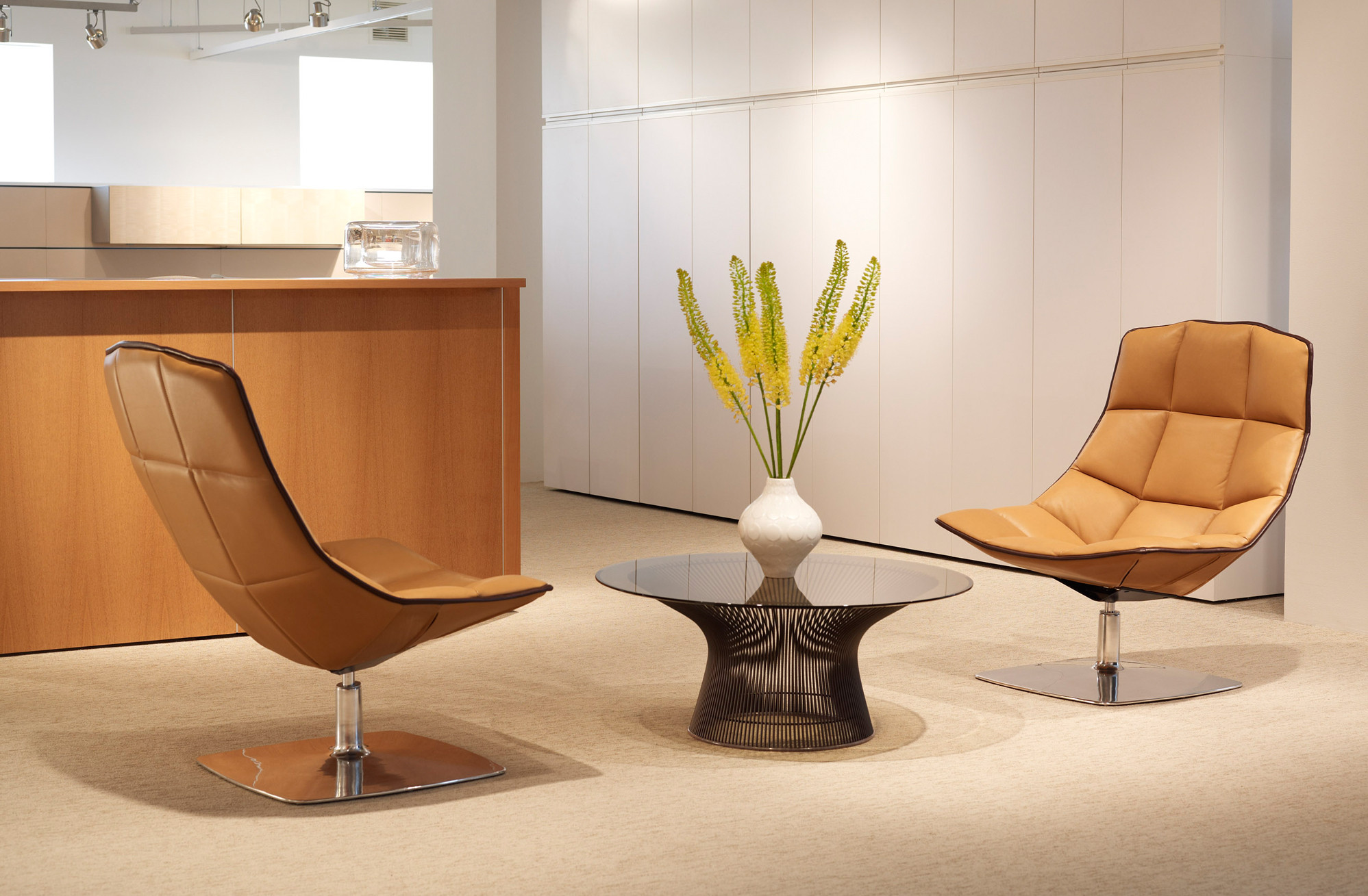 Jehs + Laub Lounge Chairs by Knoll
