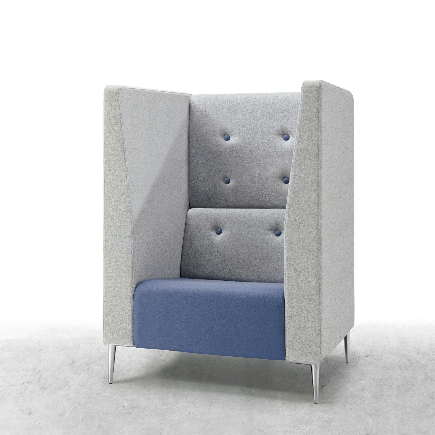 Jensen-Up High Back Armchair