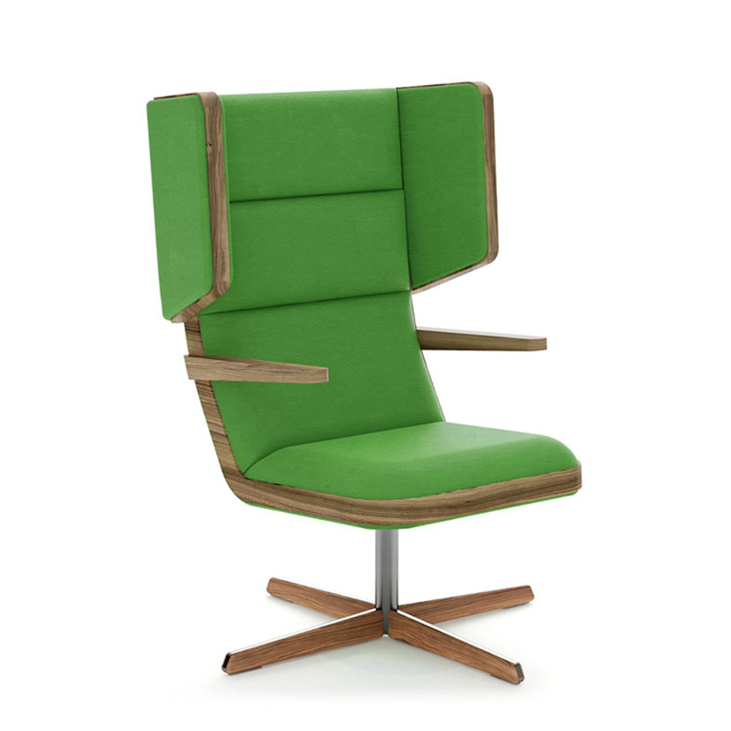 Jentle Modern Wooden Lounge Chair SJT1A/B