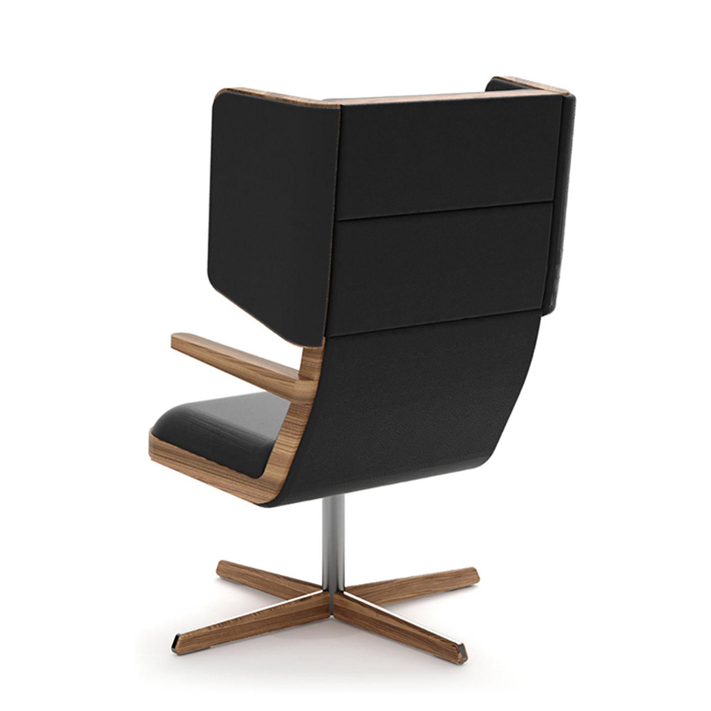 Jentle Wingback Lounge Chair Rear
