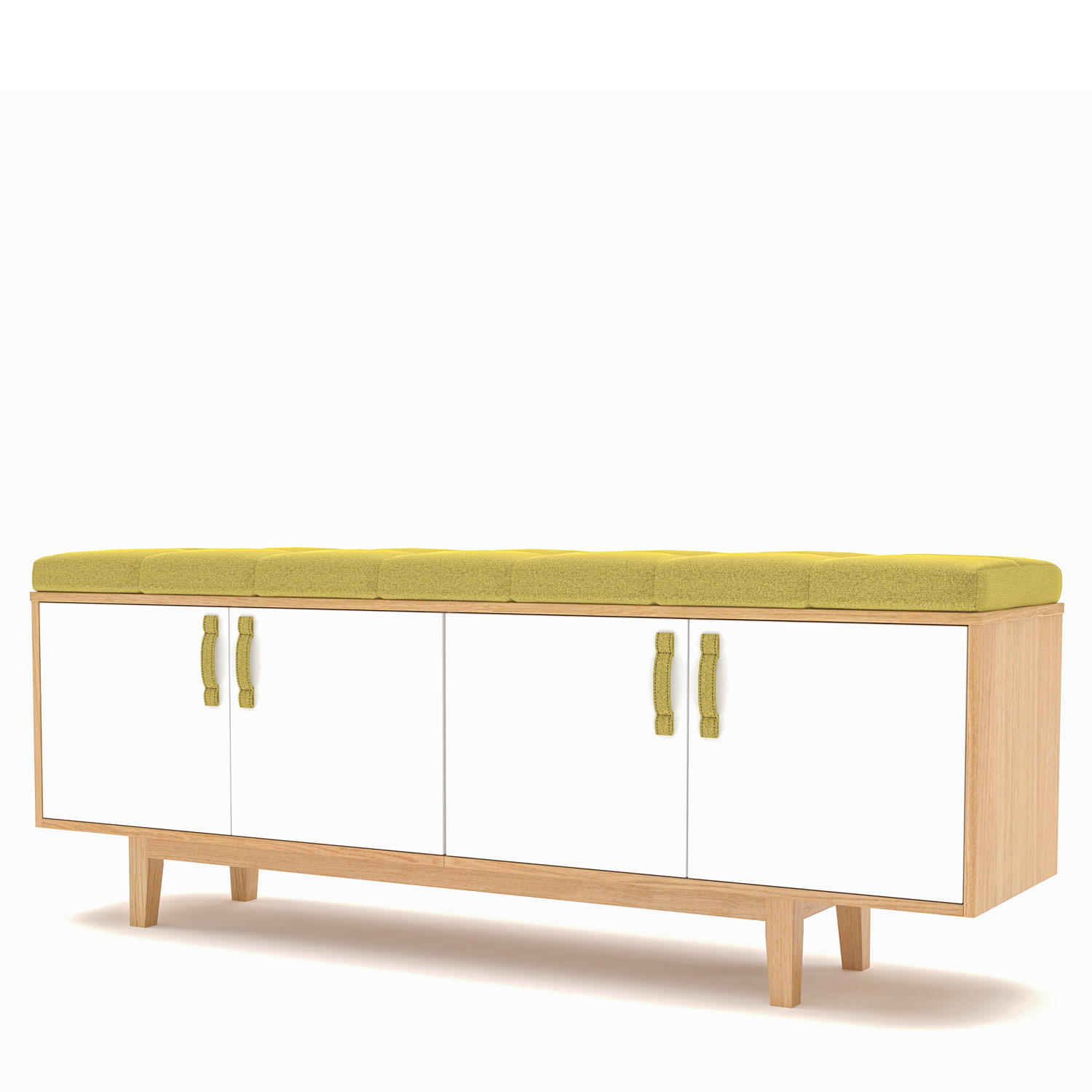 Jig Credenza Low Unit With Seat Cushion