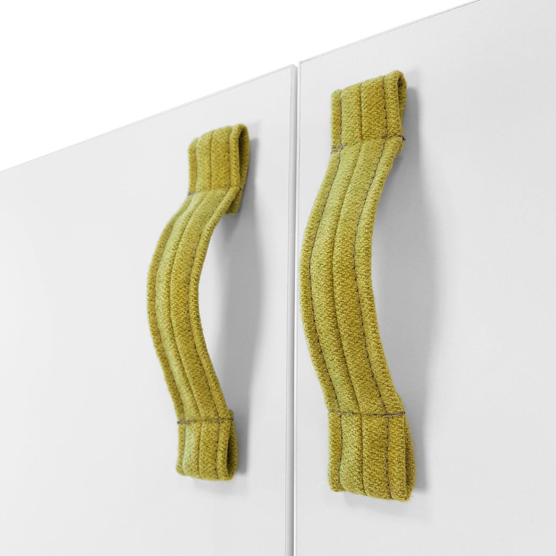 Jig Credenza Fabric Door Handles