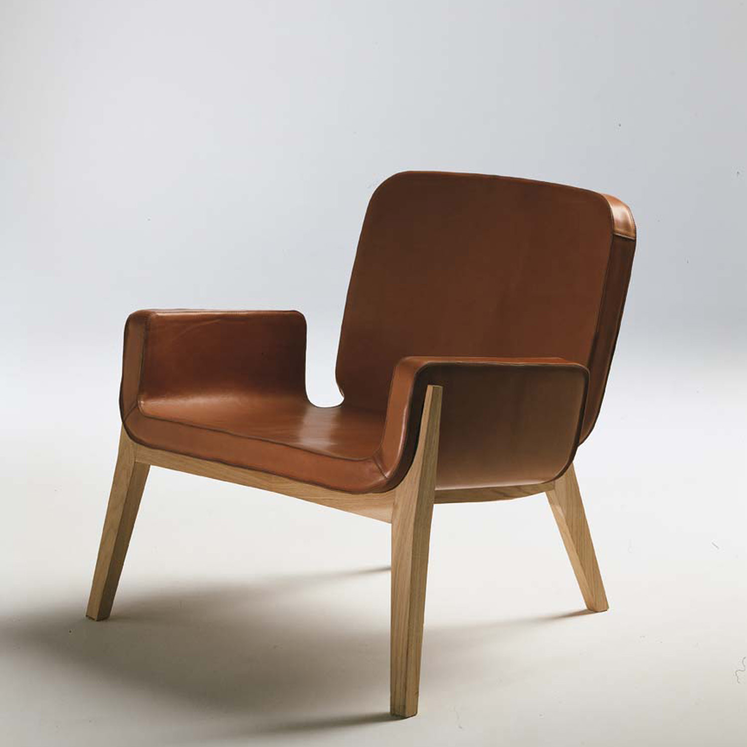 Jockey Chair by Poltrona Frau