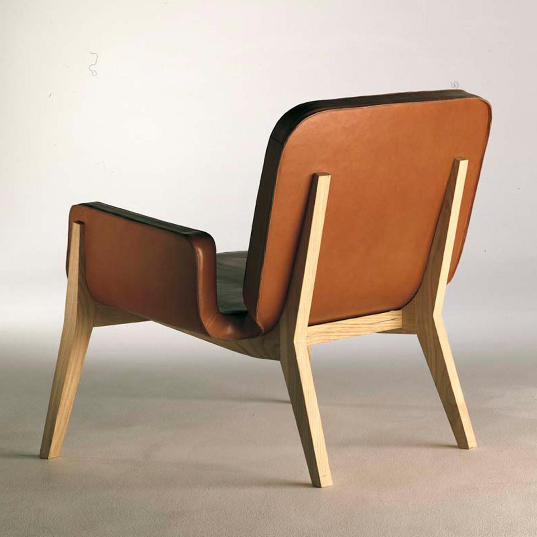 Jockey Chair Rear from Poltrona Frau