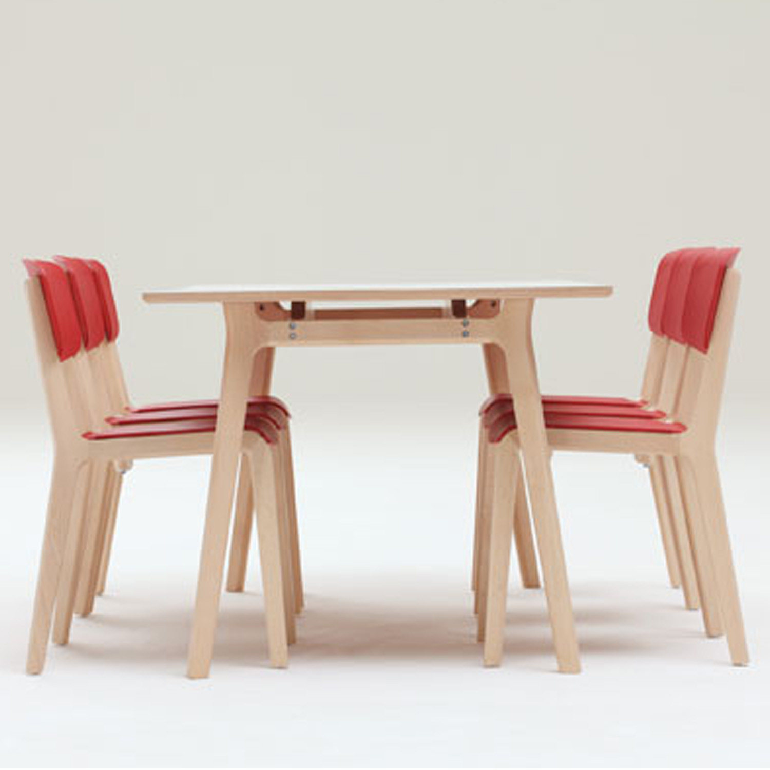 Jonty Dining Table + Jonty Dining Chairs