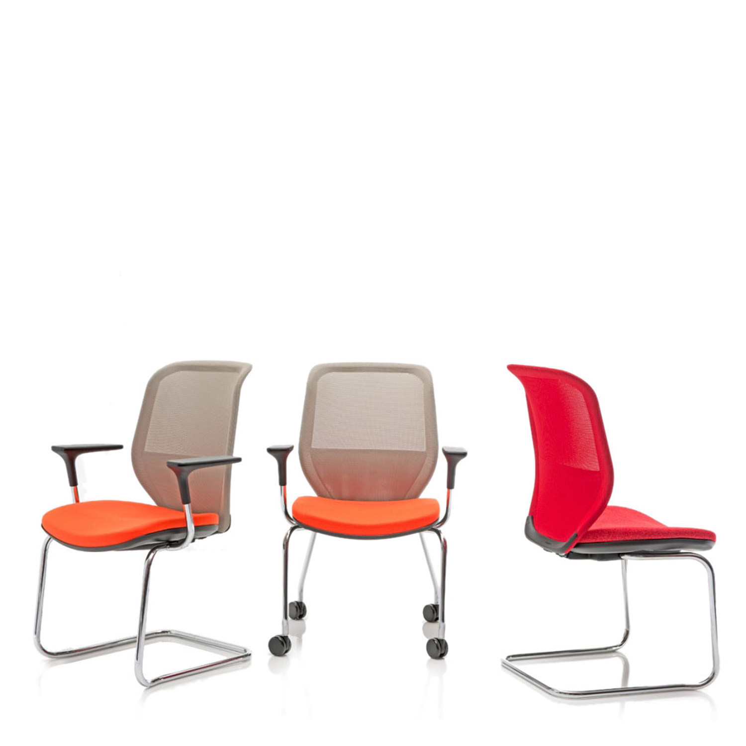 Joy Mesh Reception Chairs
