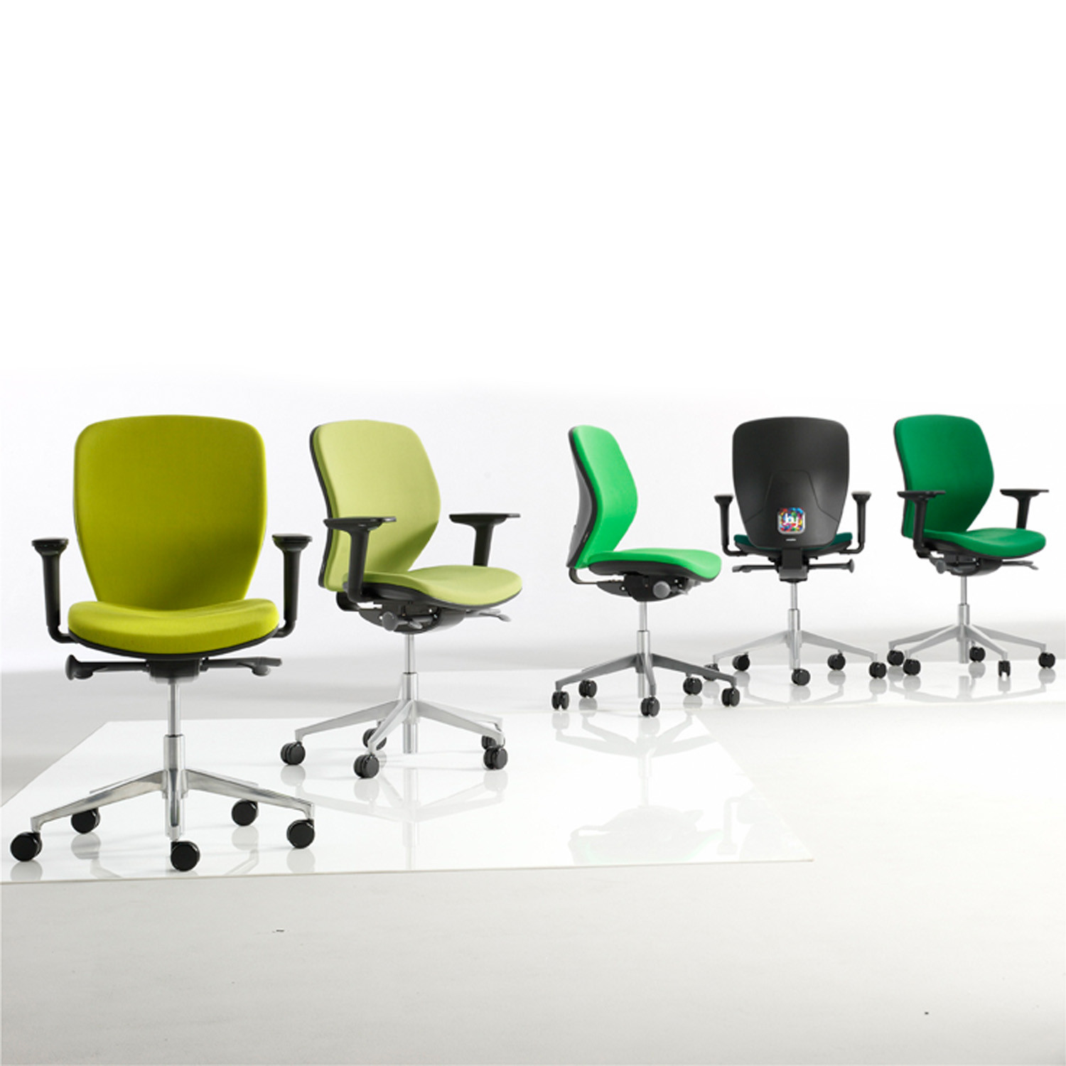 Joy Task Chairs by Orangebox