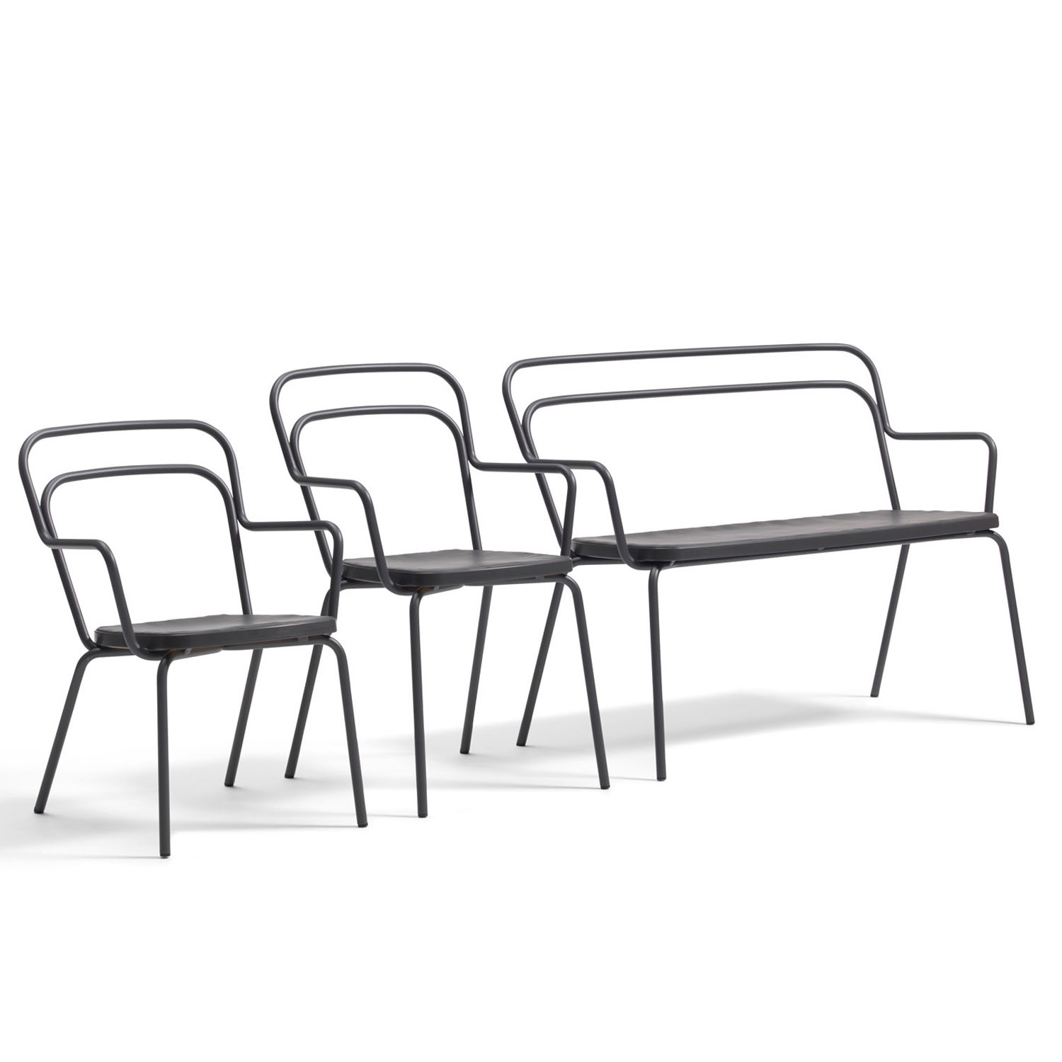 Kaffe Tubular Seating including Garden Bench