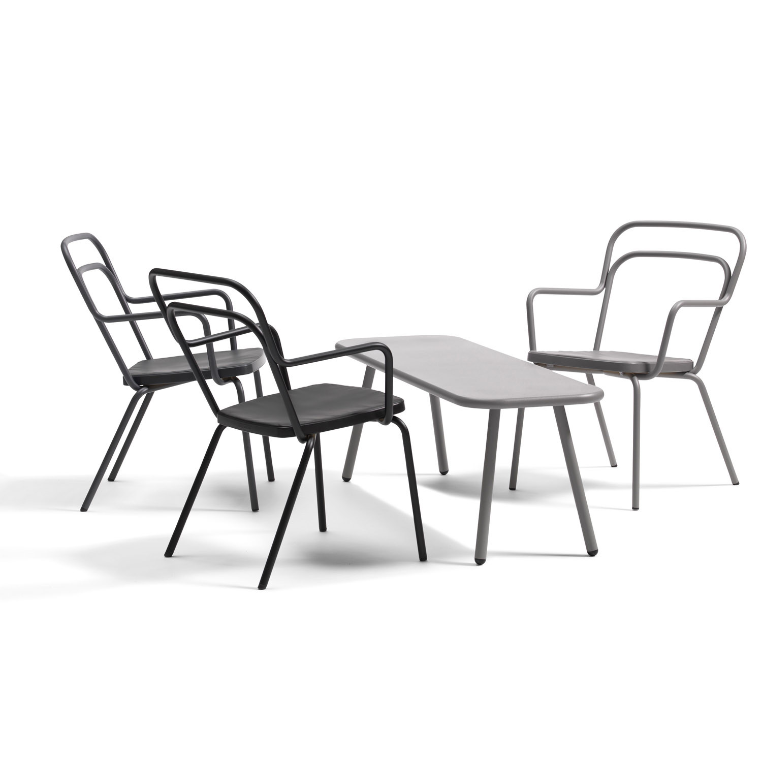 Outdoor Kaffe Chairs from Bla Station
