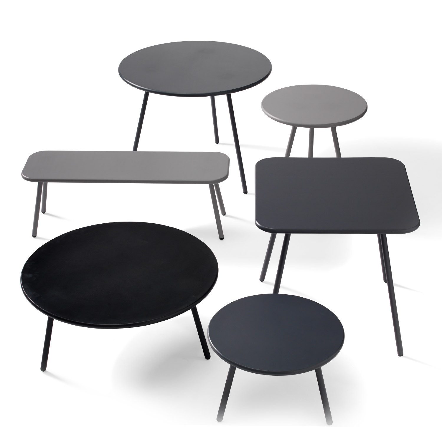 Kaffe Tables Range by Thomas Bernstrand