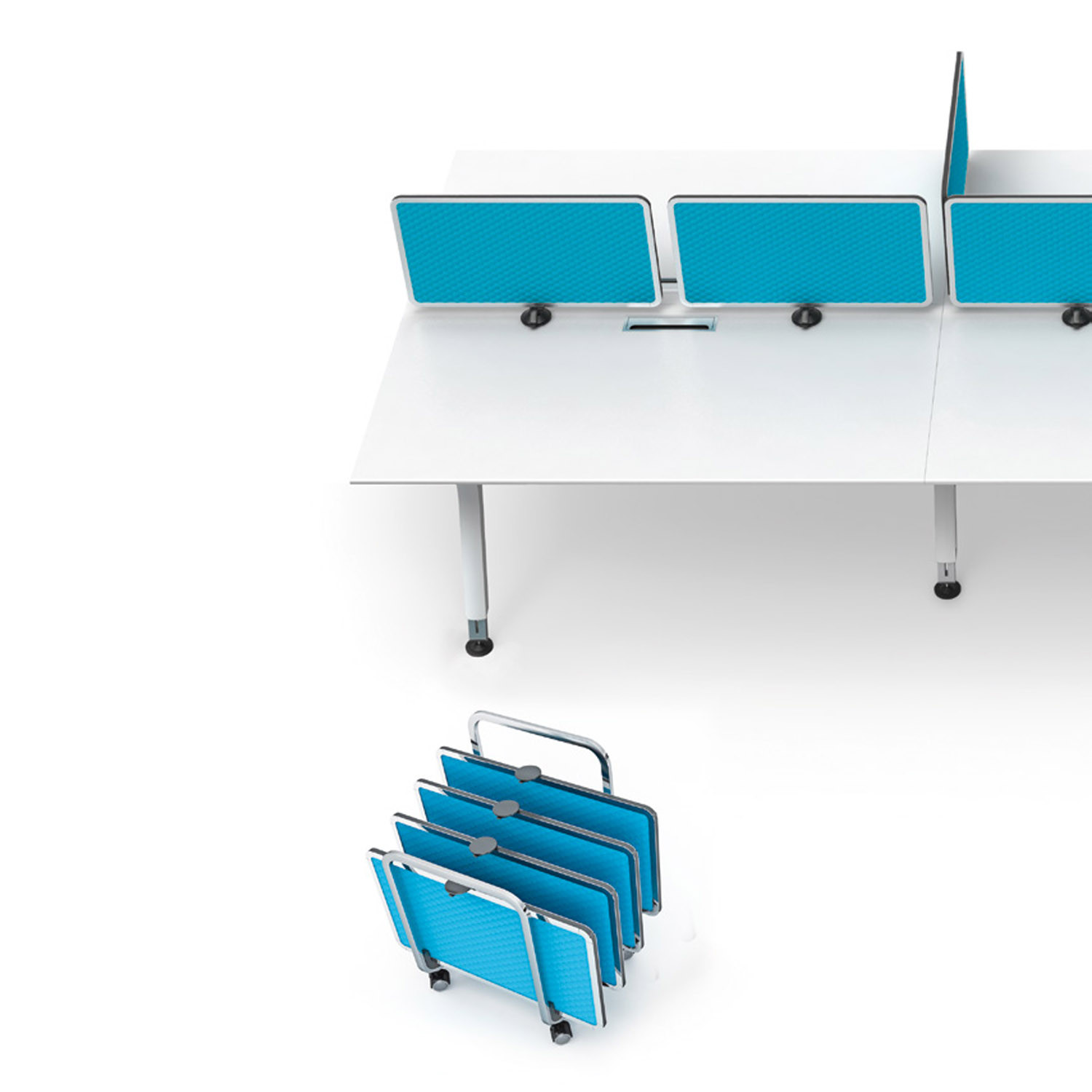 Keko Office Desk Screens