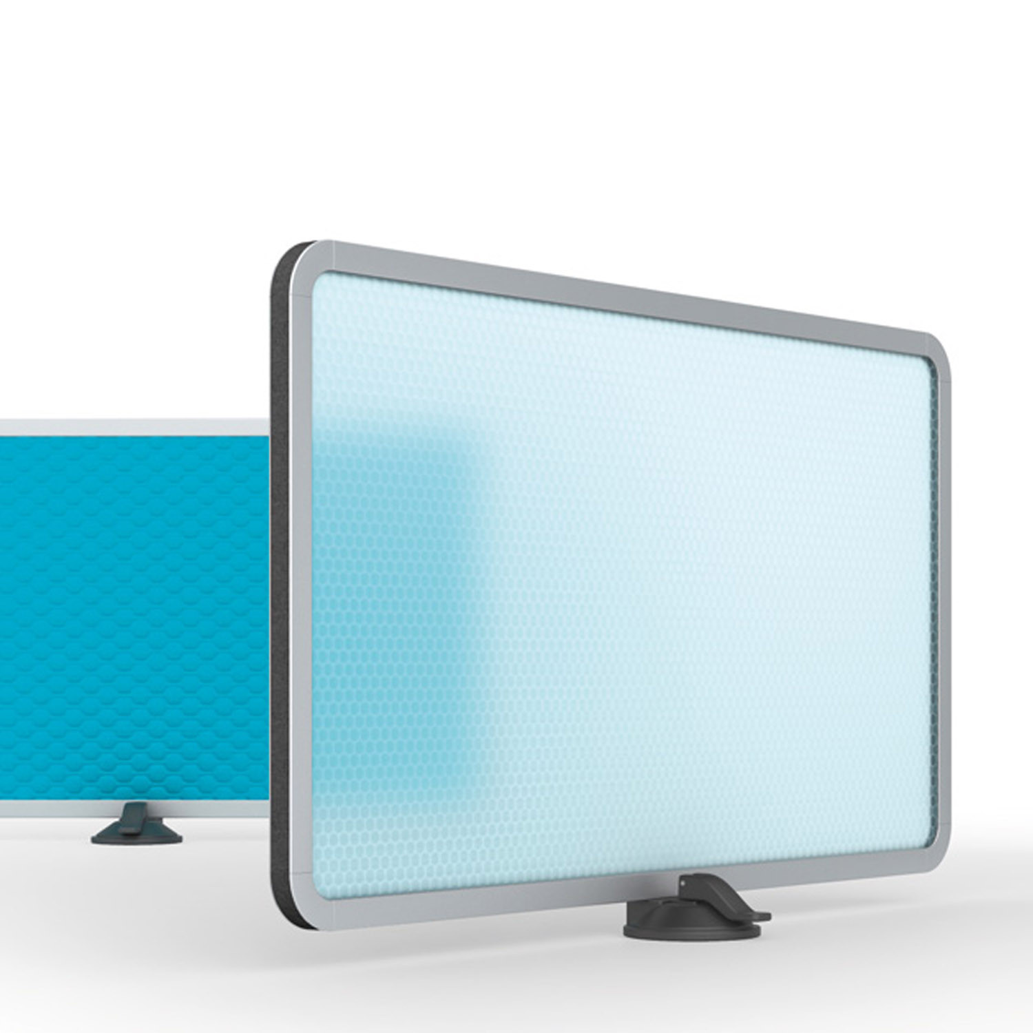 Keko Transculent Desk Screen by Mobica Plus