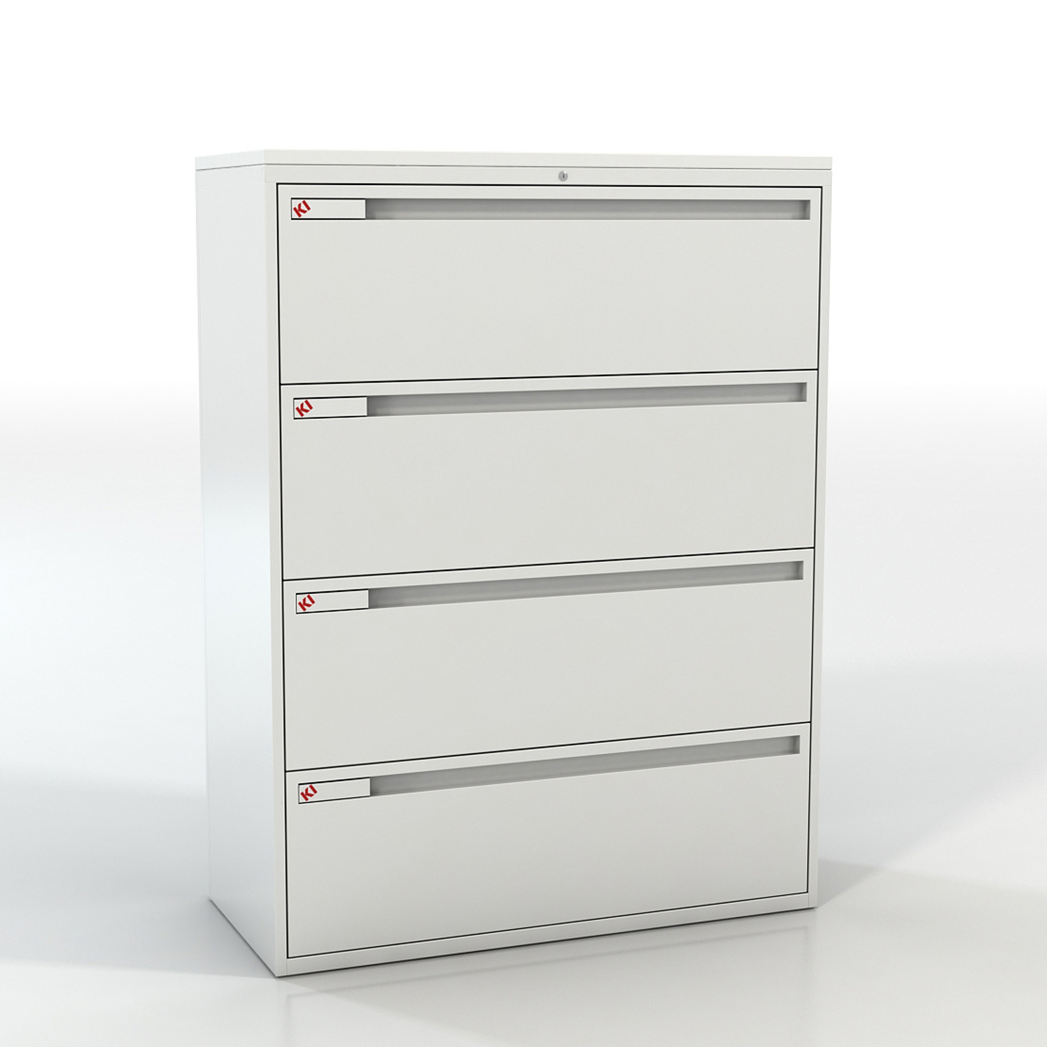 800 Series Lateral Filing 4 Drawer Unit