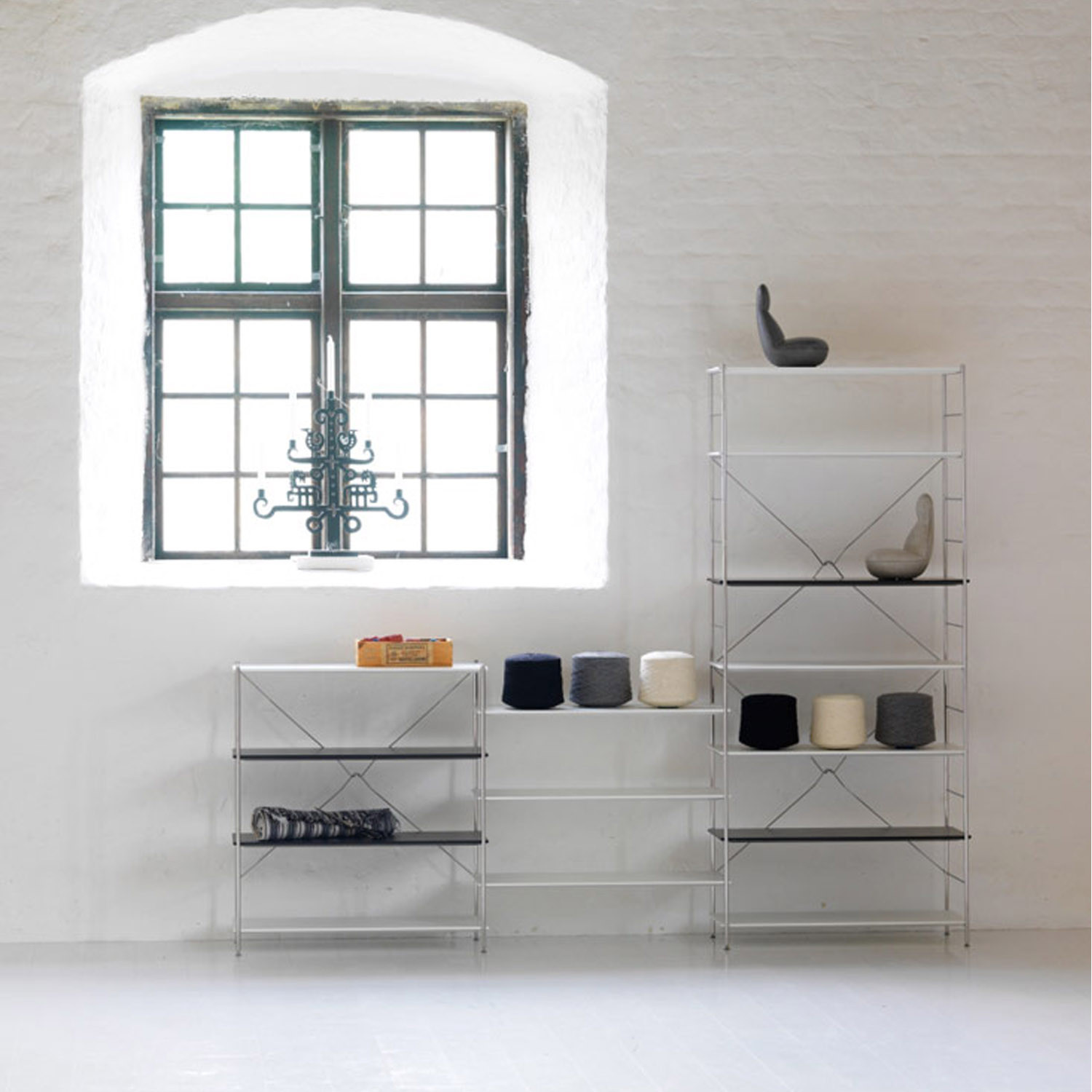 Klim Shelving System A4 by Bla Station