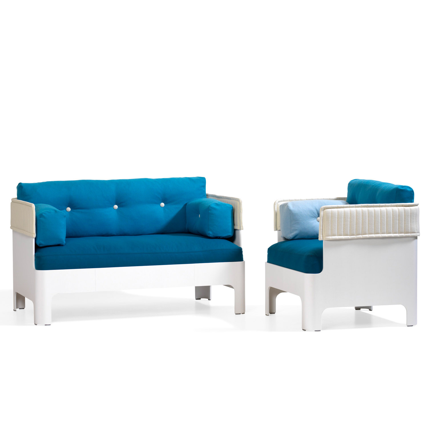 Koja Hotel Low Back Sofa and Armchair