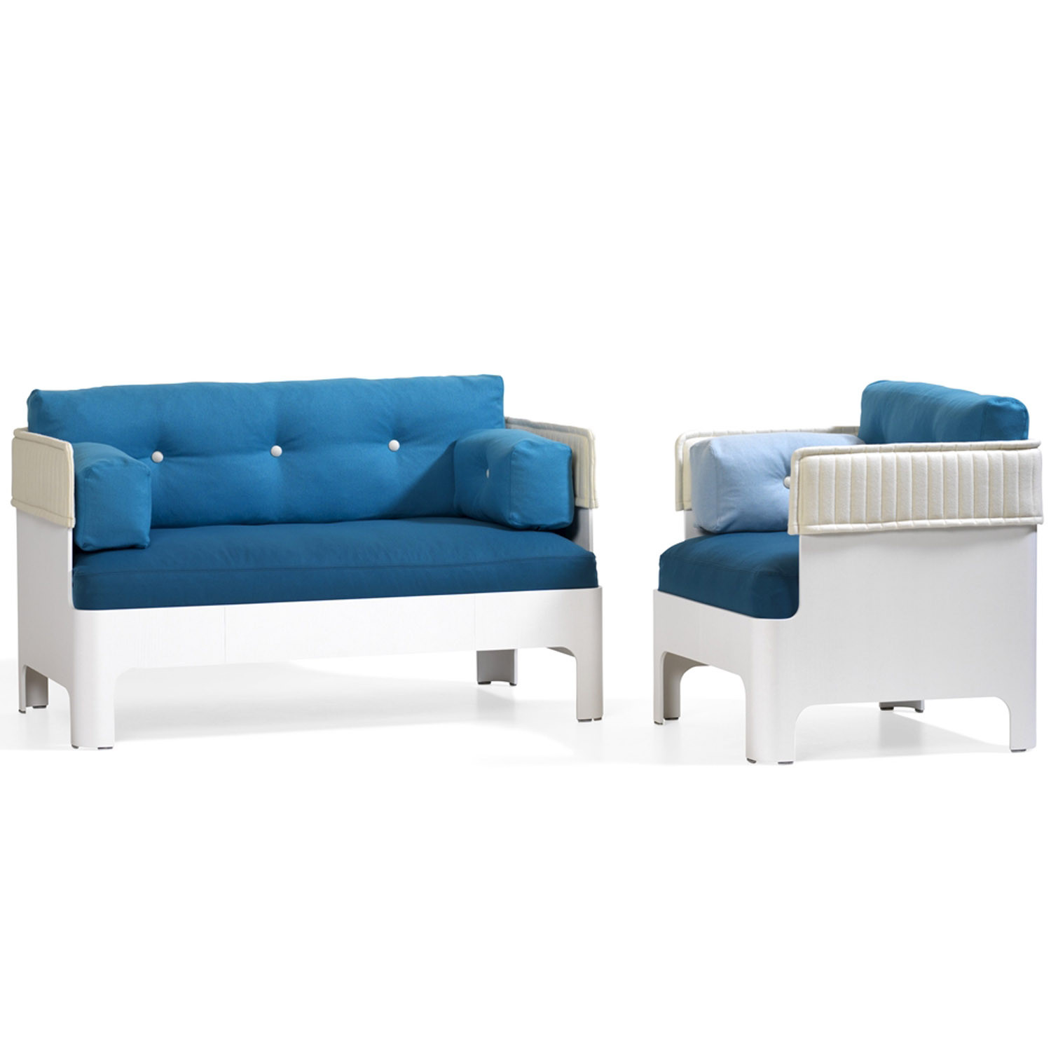 Koja Low Back Armchair and Sofa