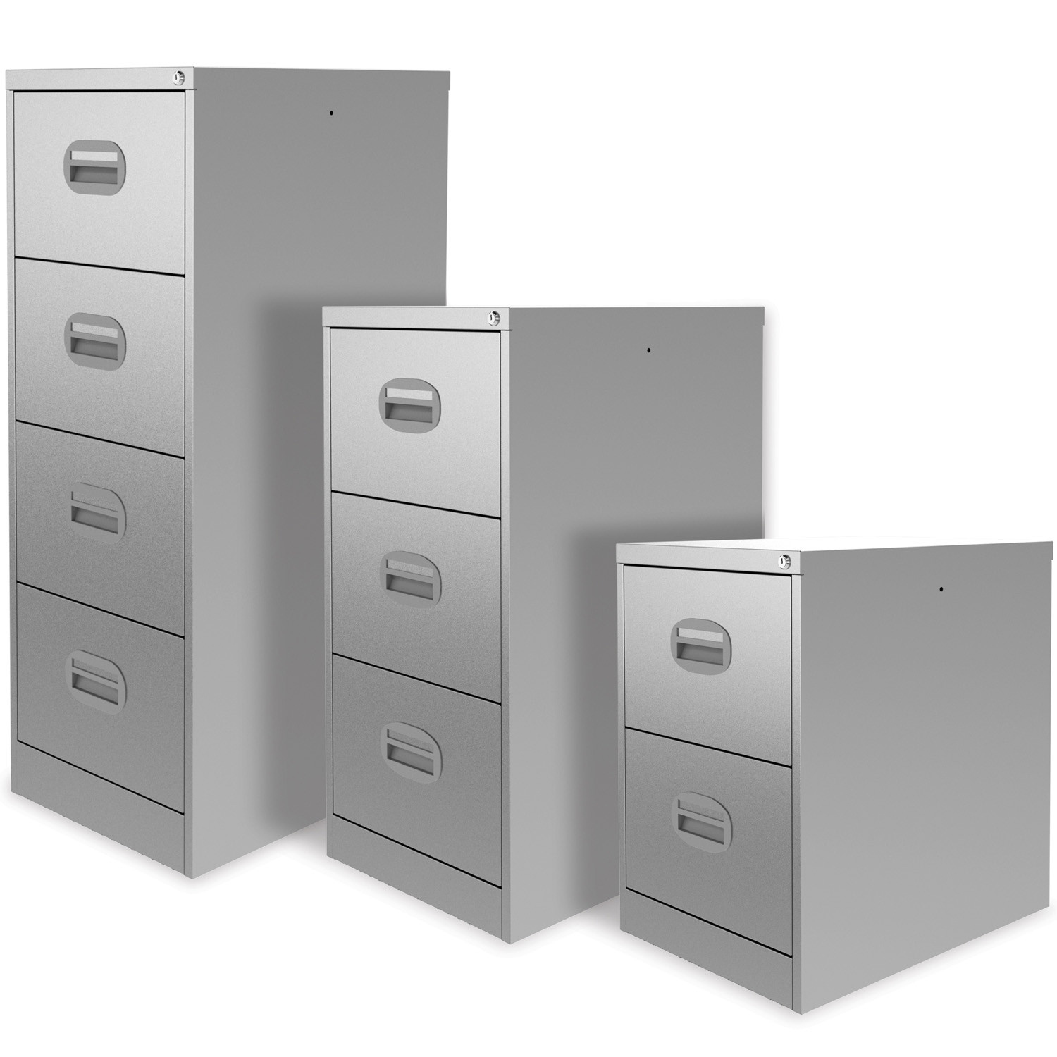 Midi Filing Cabinet Range Sizes