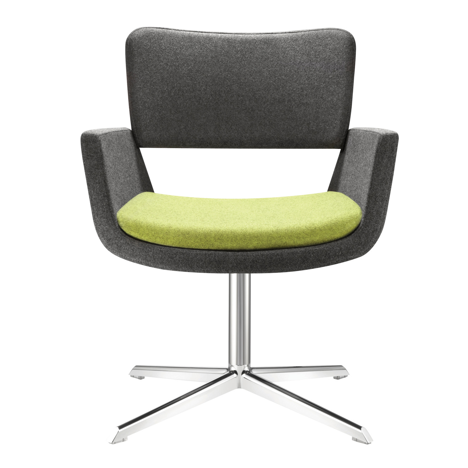 Korus Armchair with 4-Star Base