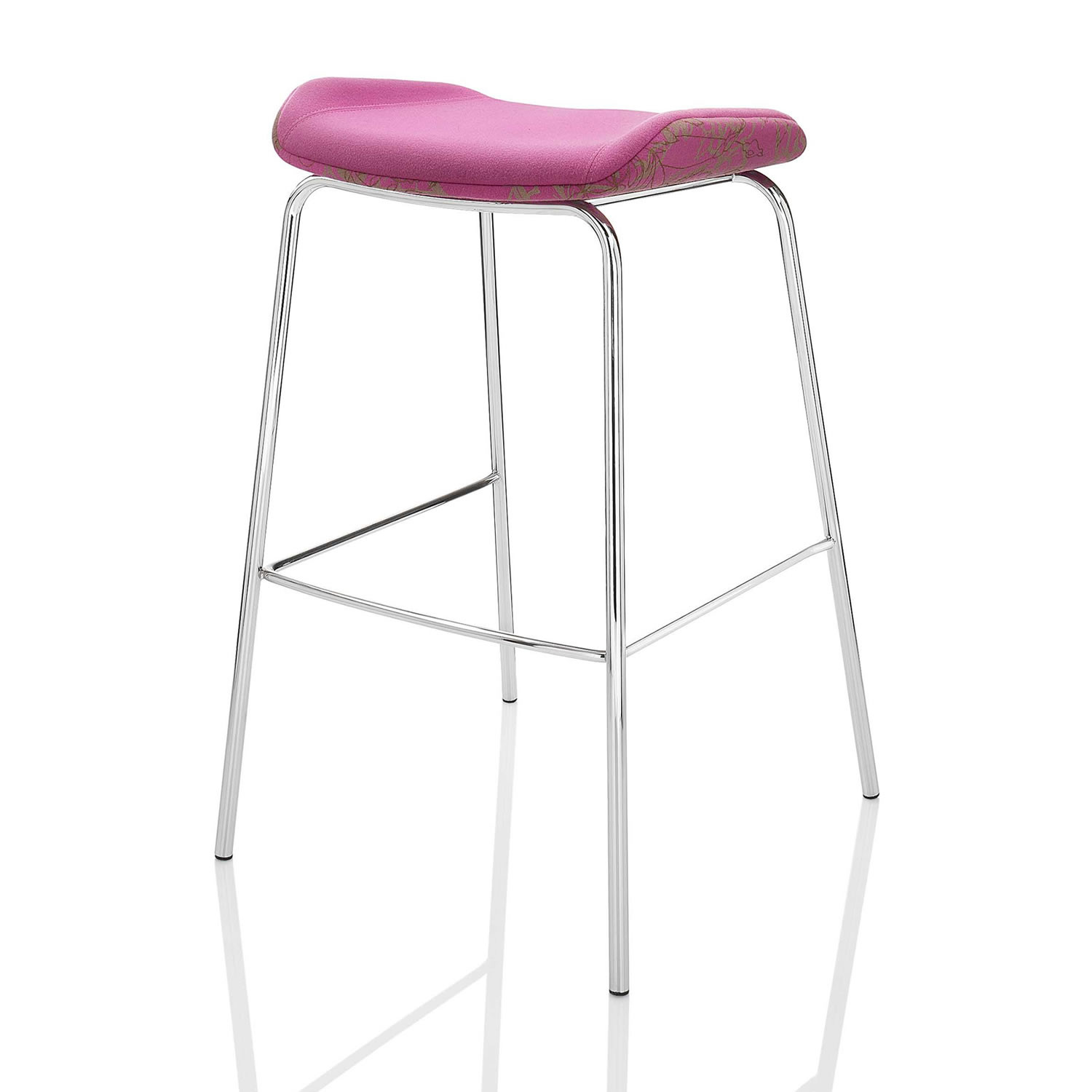 Kruze Upholstered Bar Stool by Boss Design