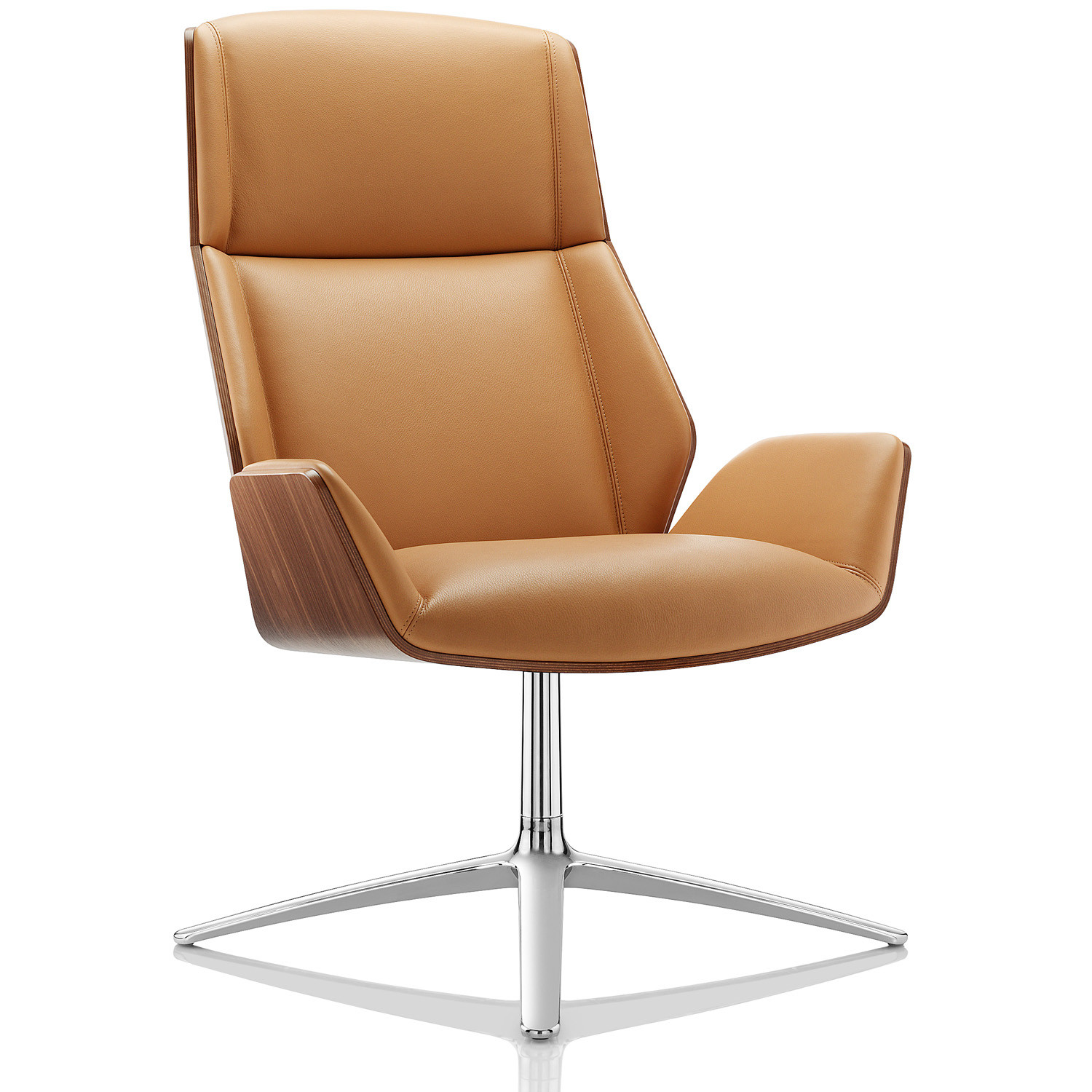 Kruze High Back Lounge Chair by Boss Design