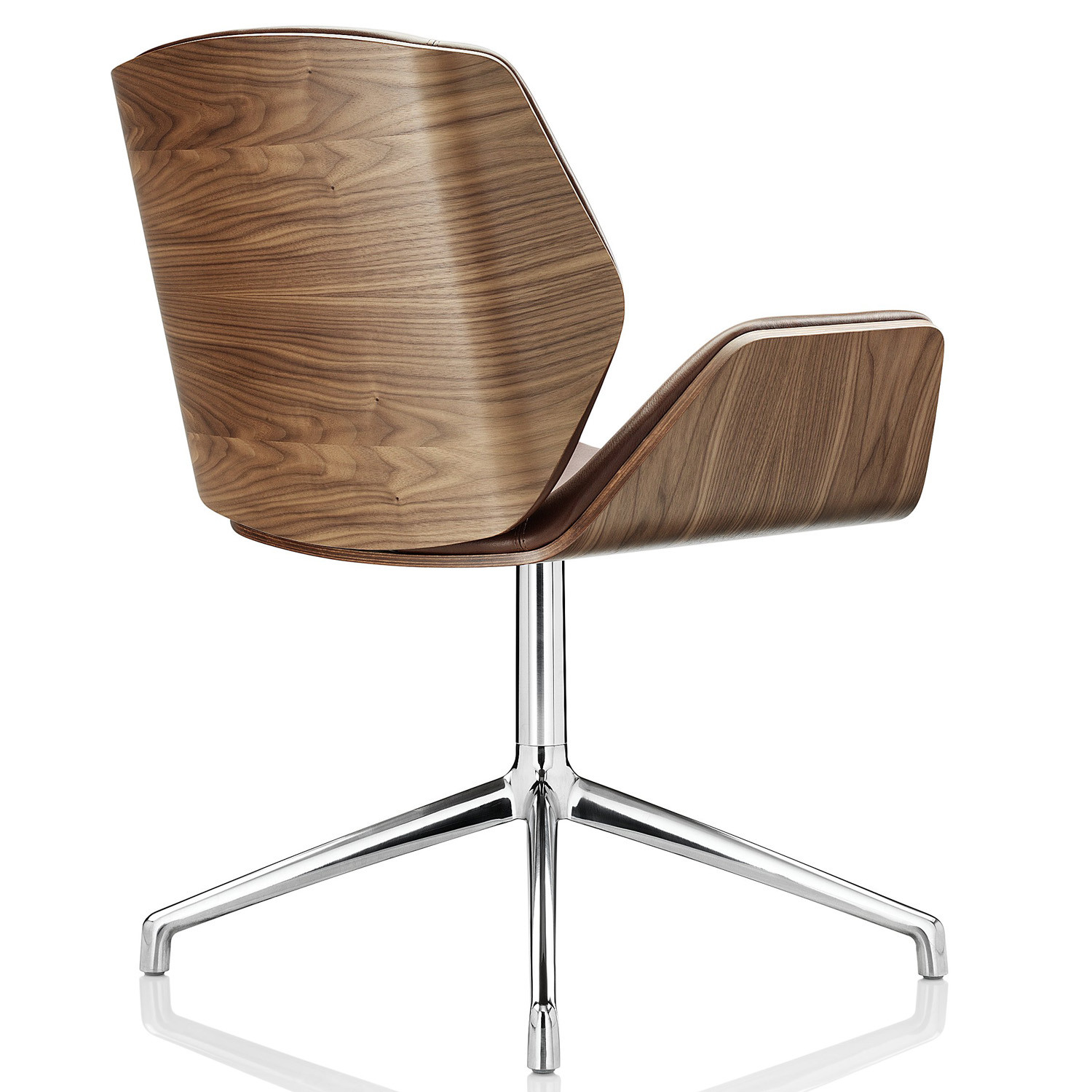 Kruze Chair with Wood Veneer