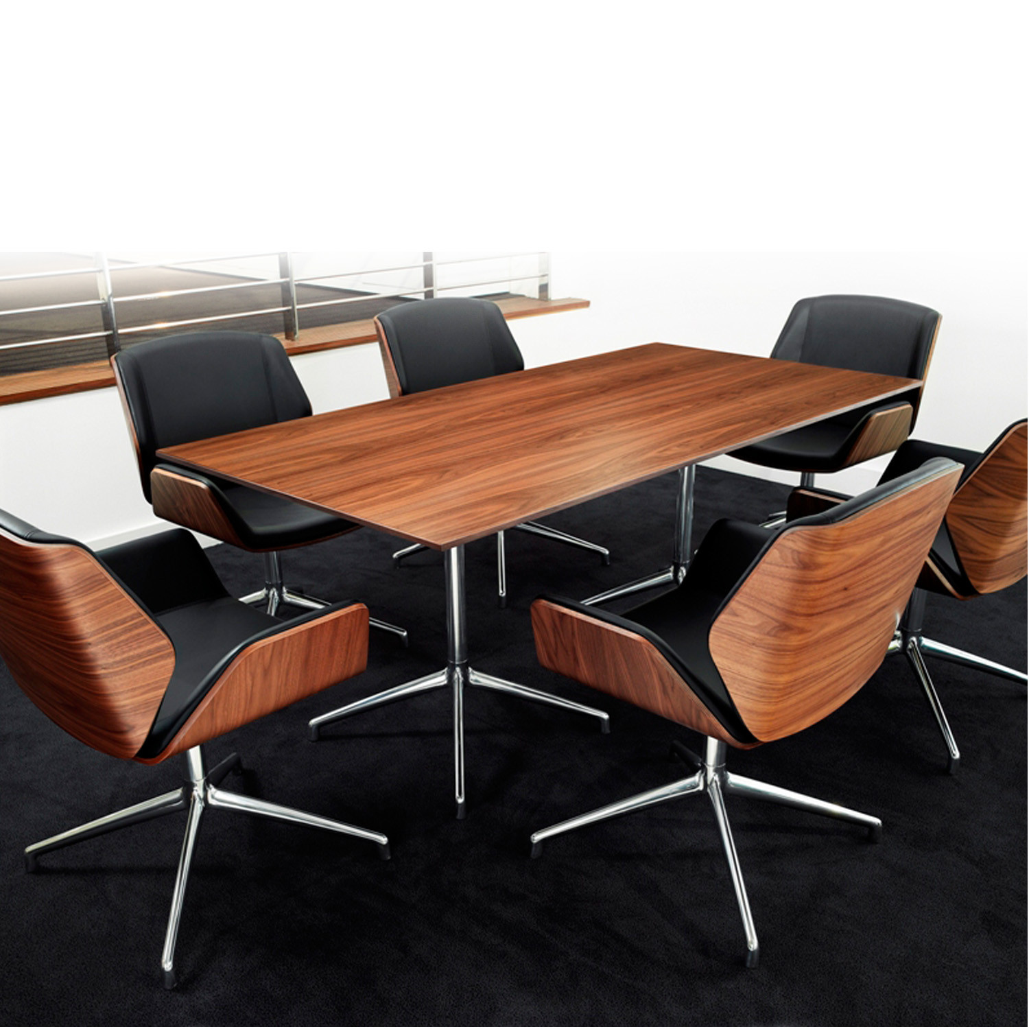 Kruze Meeting Chairs from Boss Design