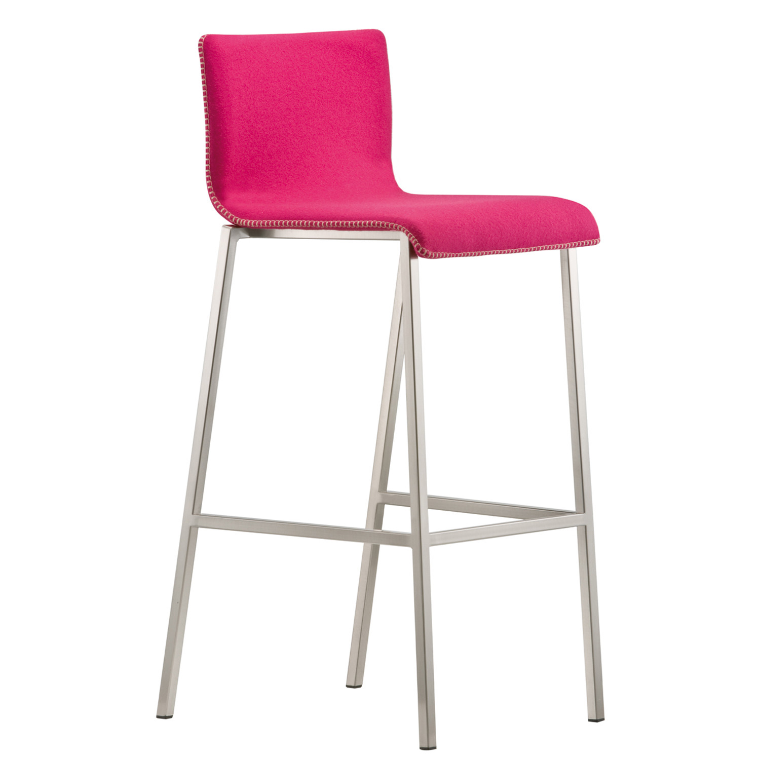 Kuadra XL Bar Stool by Pedrali