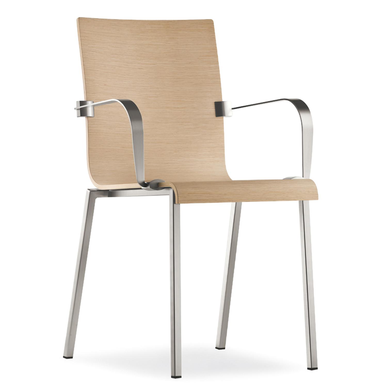 Kuadra Plywood Armed Chair