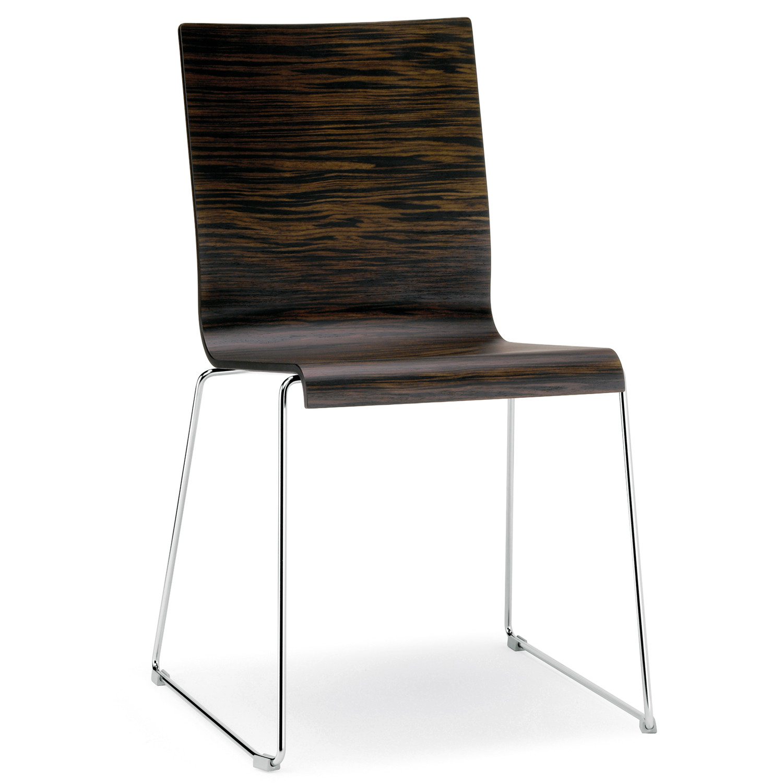 Kuadra Plywood Sled Base Chair
