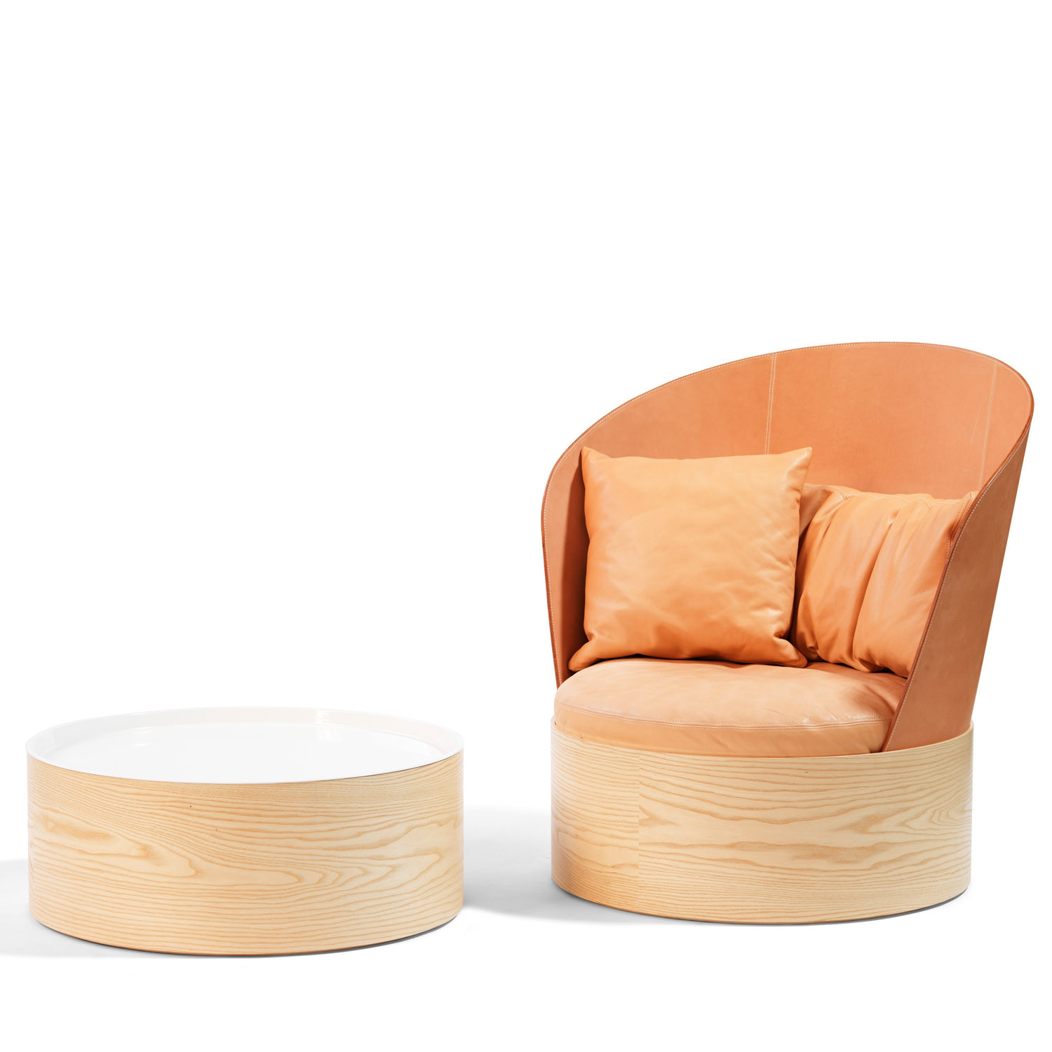 L25 Coffee Table and B25 Easy Chair by Bla Station