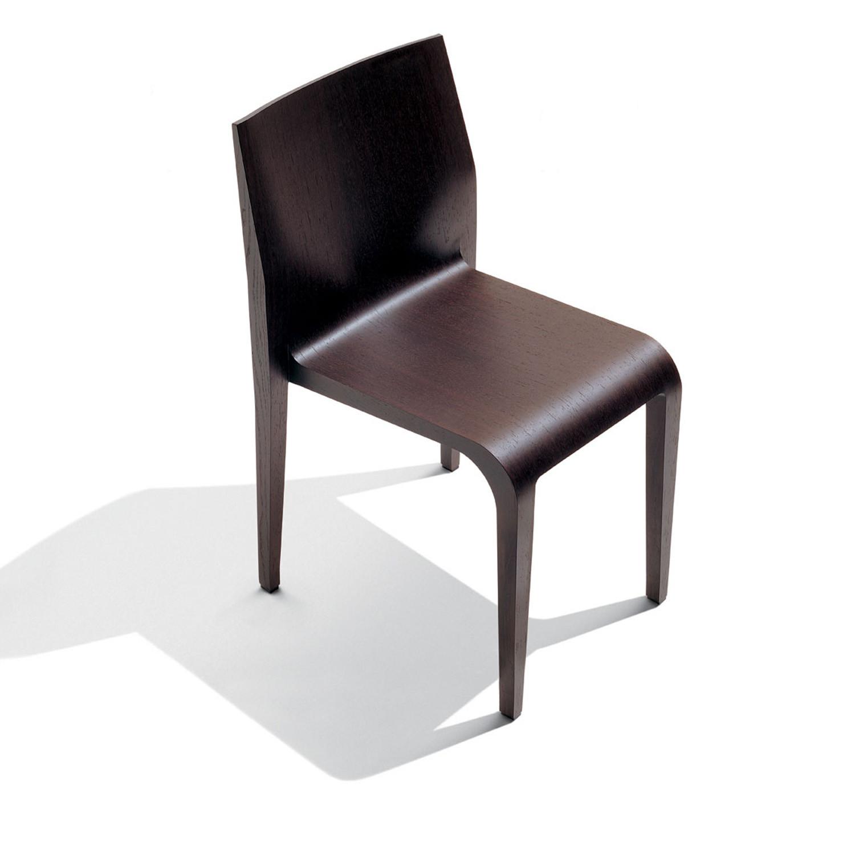 Laleggera Chair in Canaletto Walnut Wood