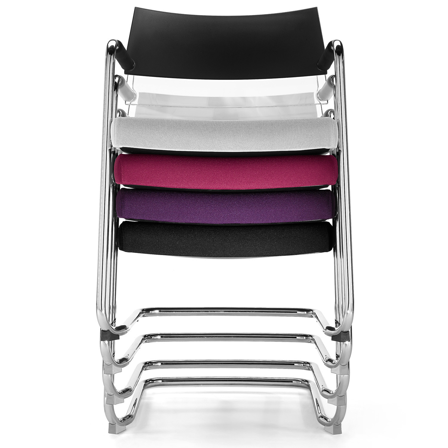 La Mesh Meeting Chair is available in a variety of colours