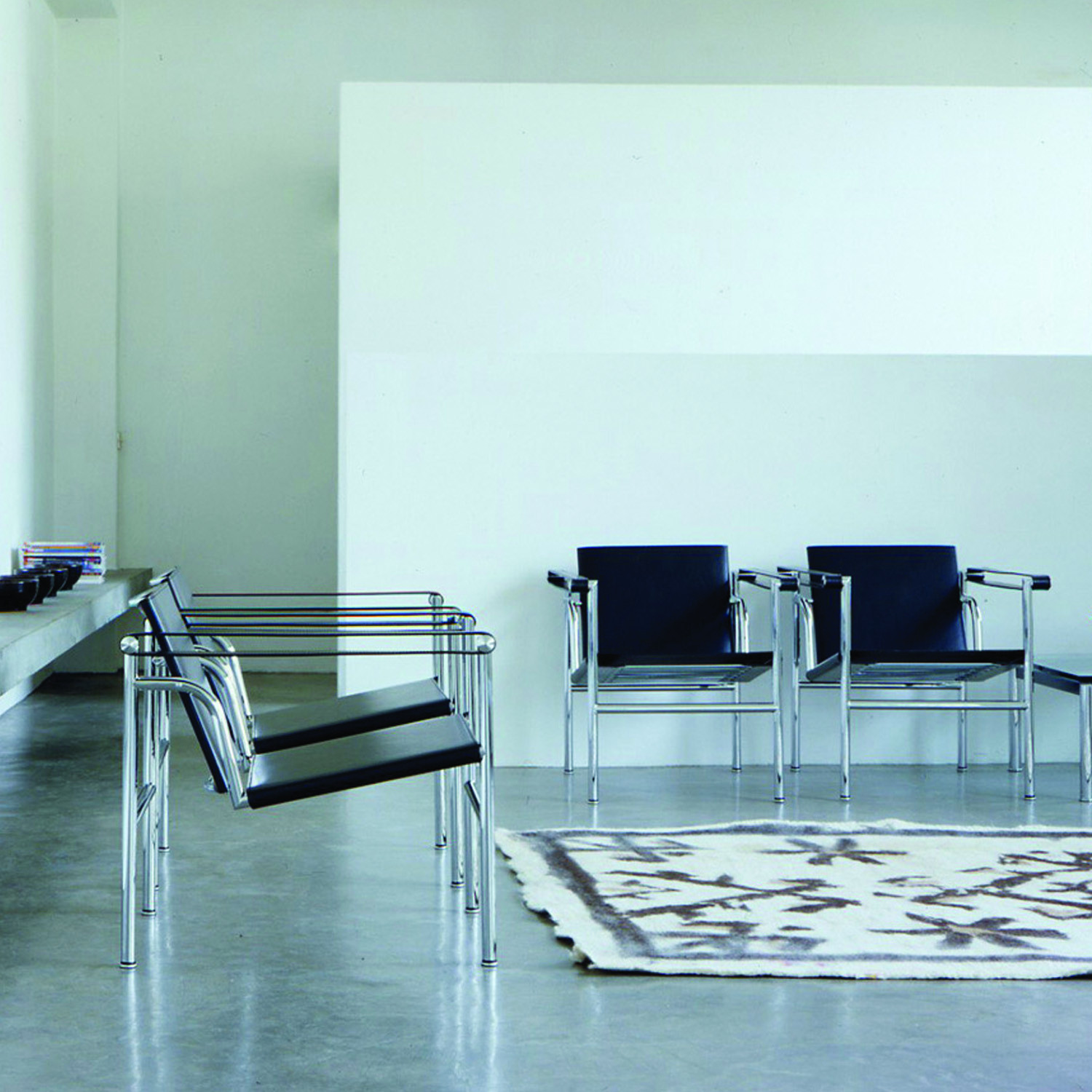 LC1 Chairs by Cassina