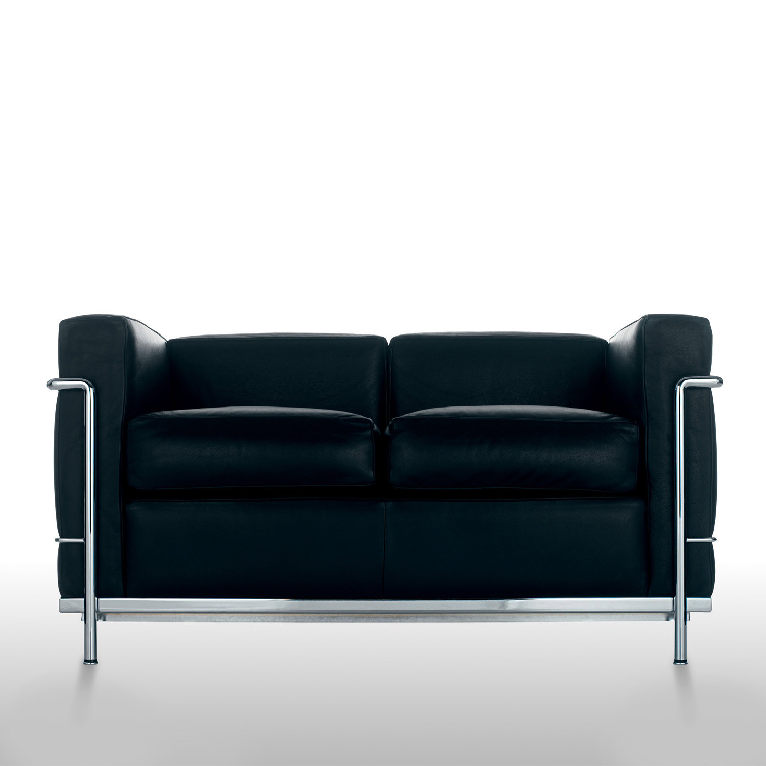 LC2 Sofa Black by Cassina