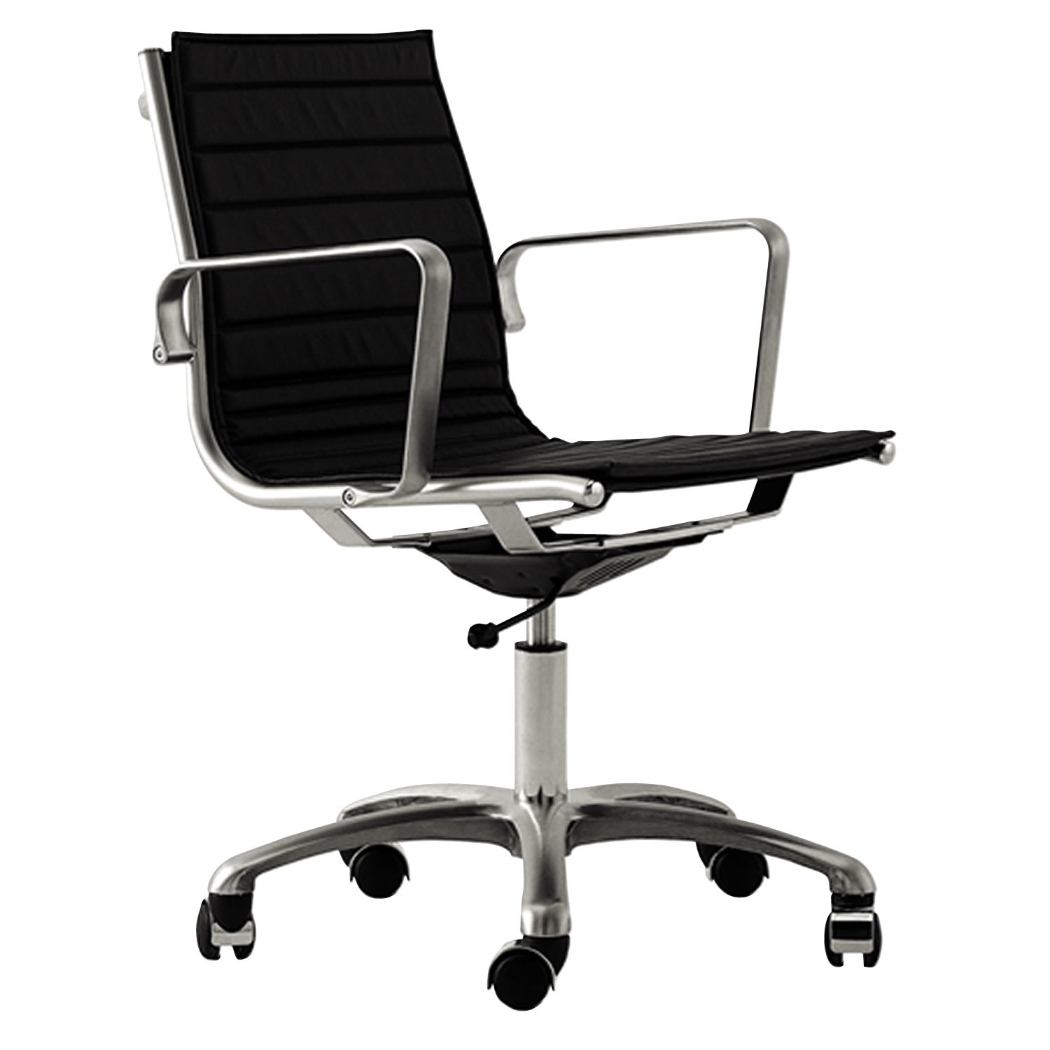 Light Office Seating with medium high backrest