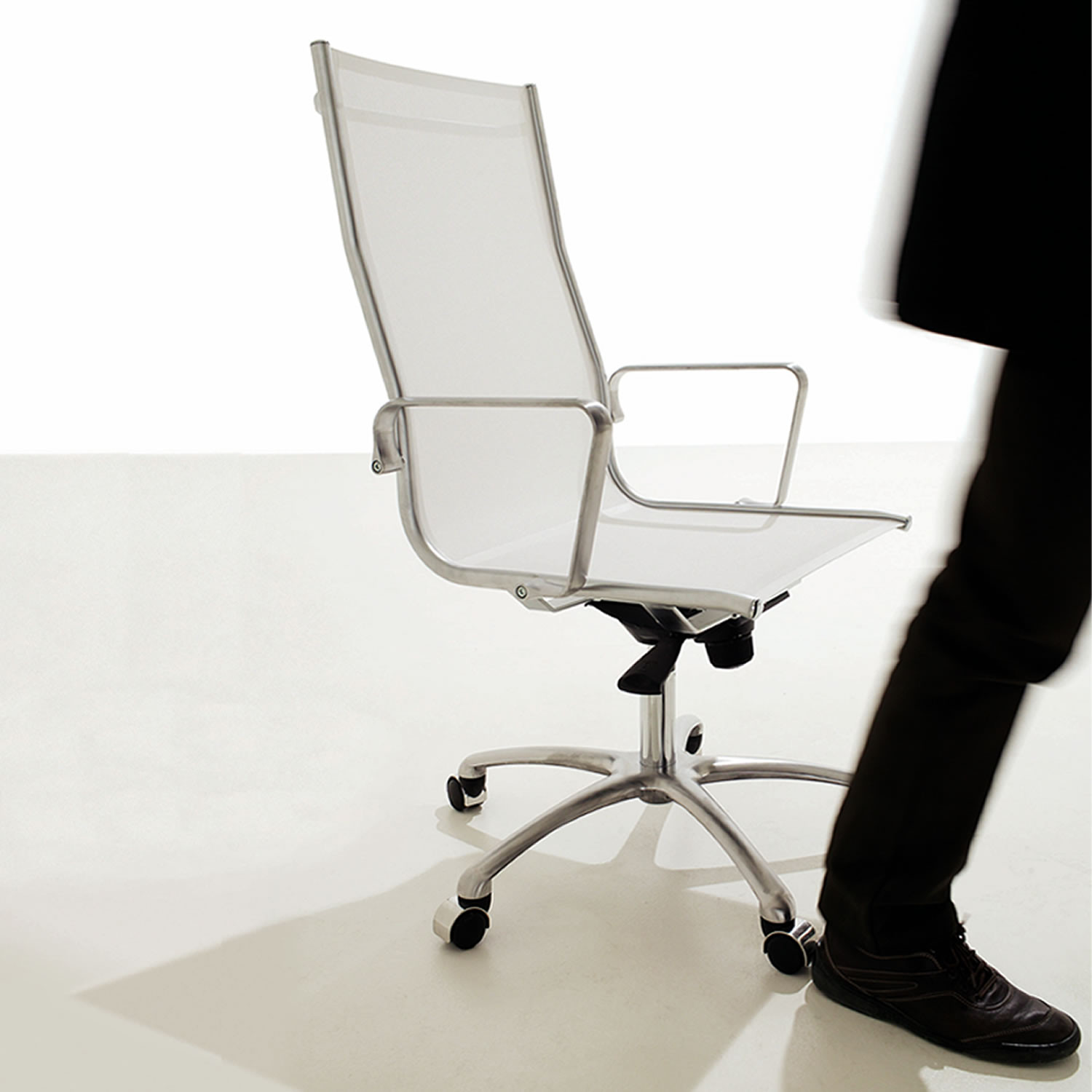 Light Chair with swivel base