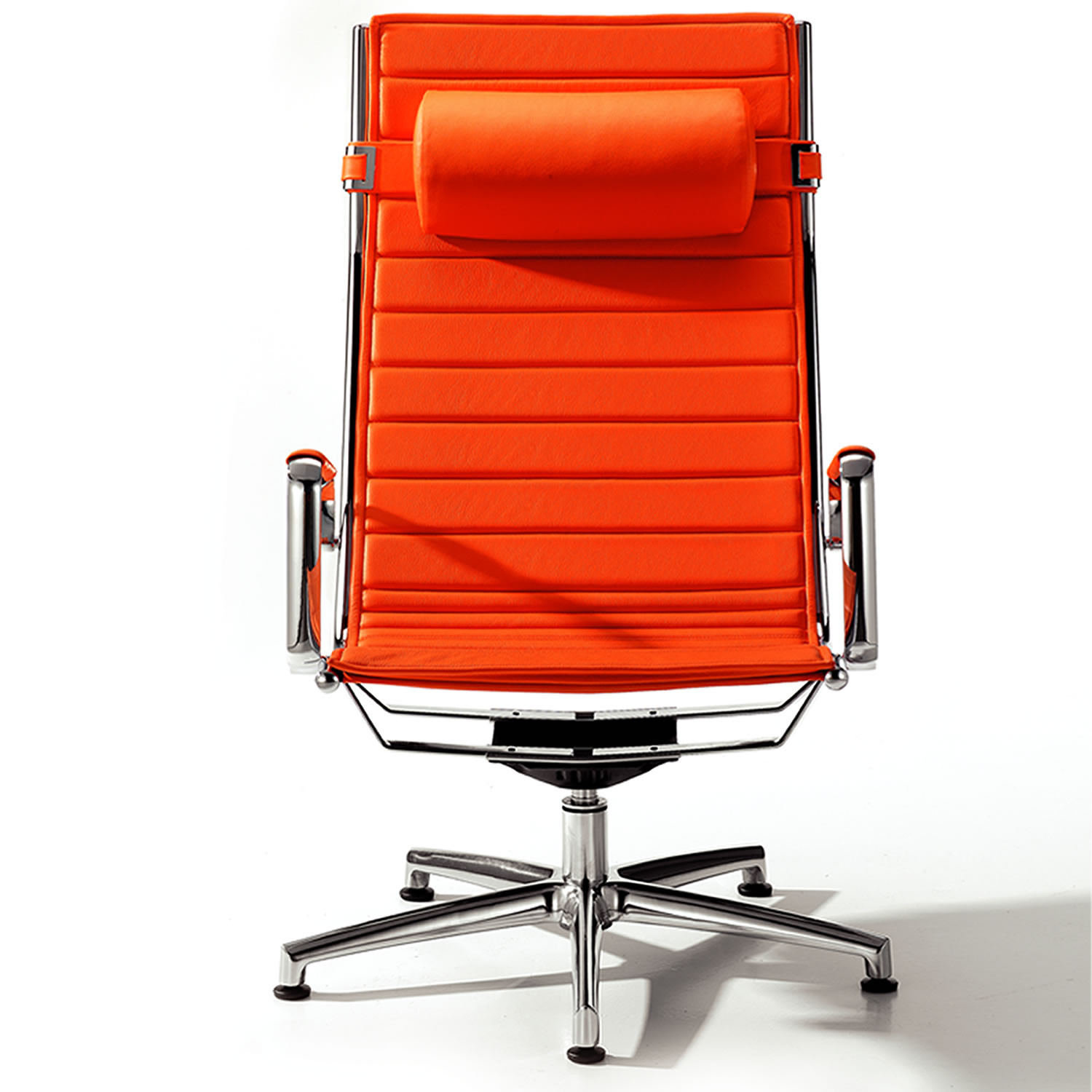 Light Boardroom Armchair with headrest