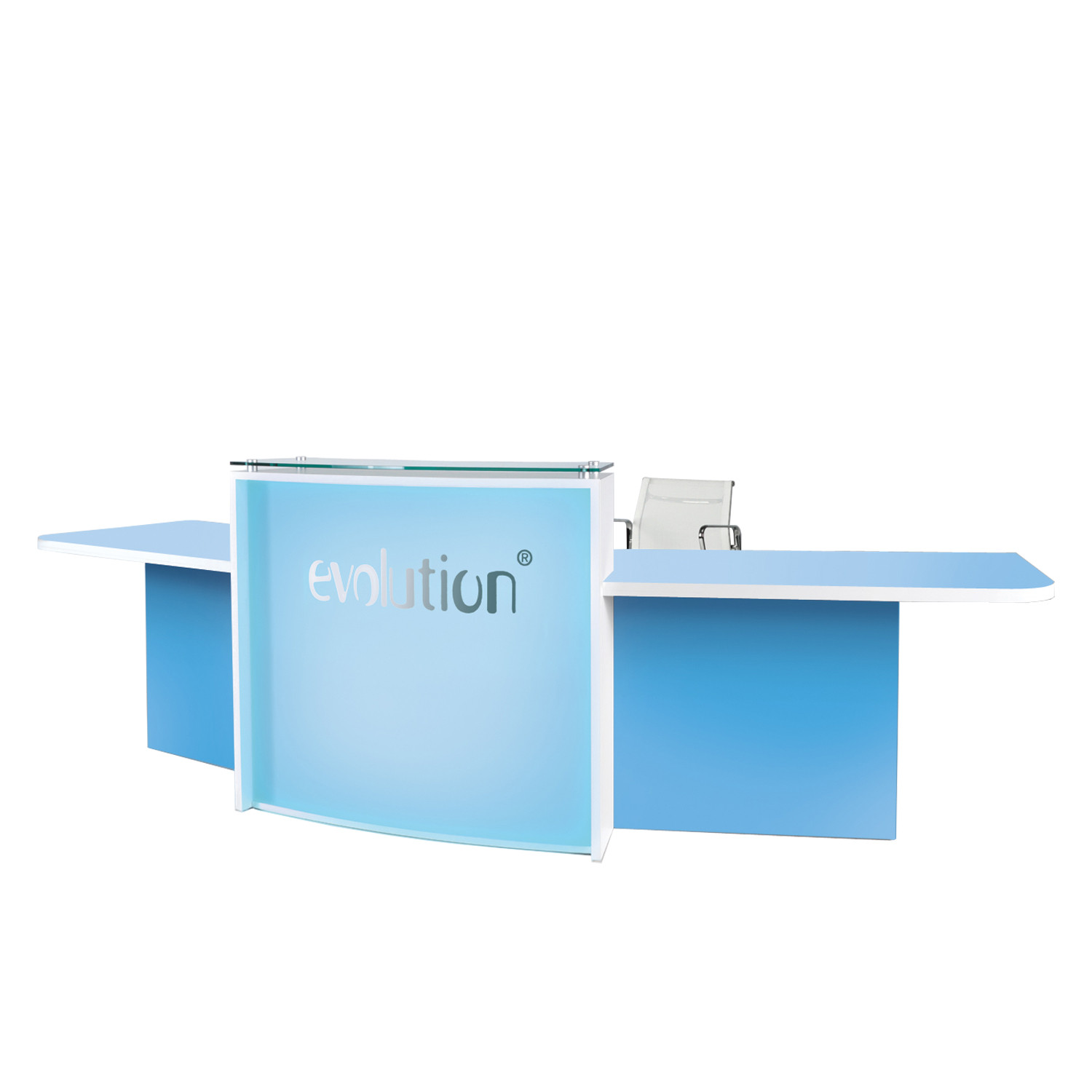 Evolution Light Reception Counter