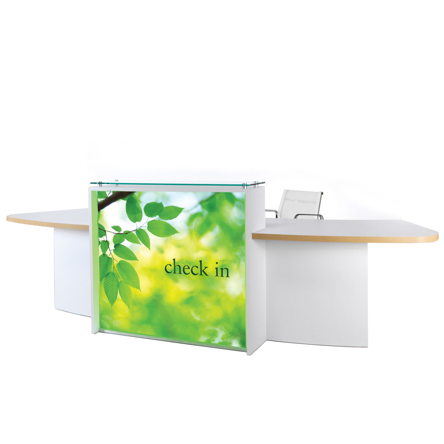 Evolution Light Receptionist Desk