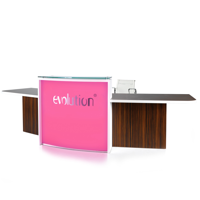 Evolution Light Reception Desk