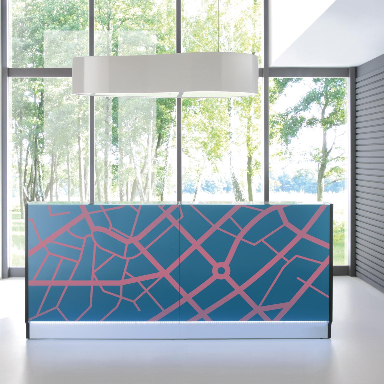 Linea Reception Desk Design