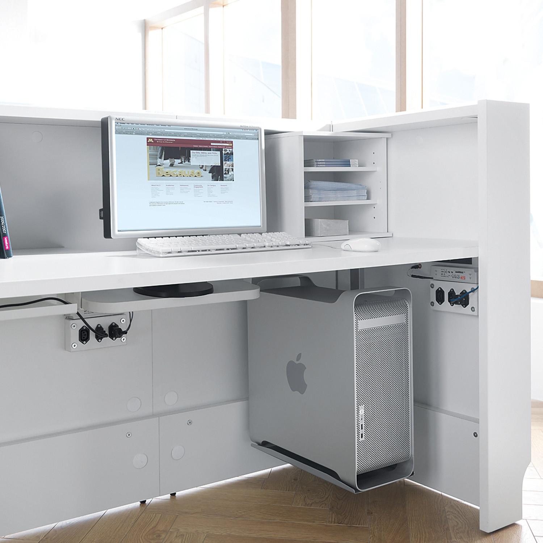 Linea Reception Desk Detail